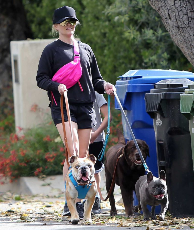 Reese Witherspoon in a Black Cap