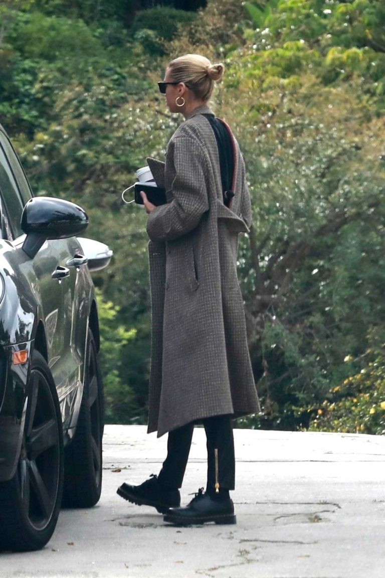 Stella Maxwell in a Black Top