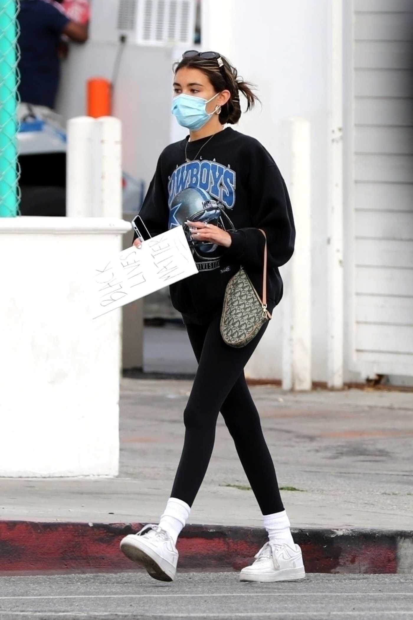 Madison Beer in a White Sneakers Was Seen Out in West Hollywood 05/30/2020