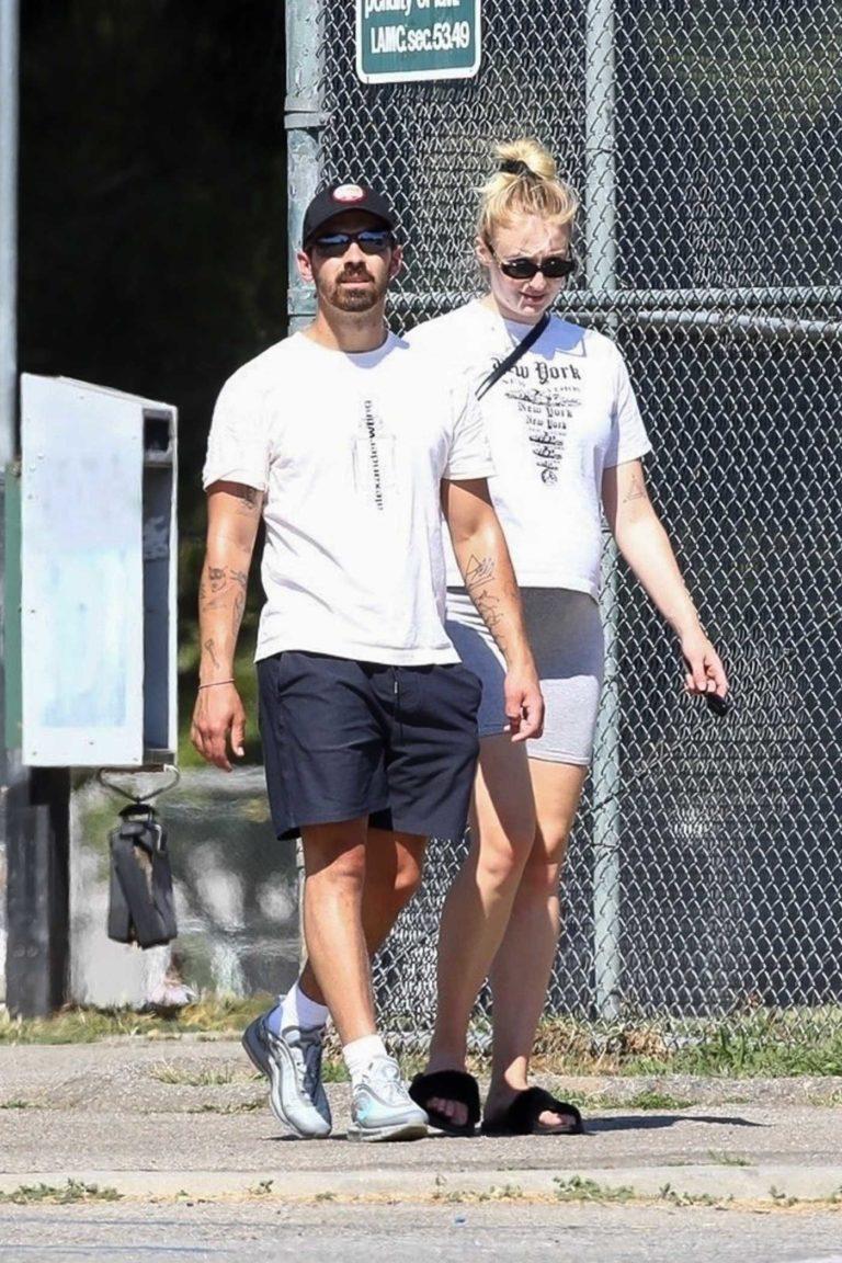 Joe Jonas in a Black Cap