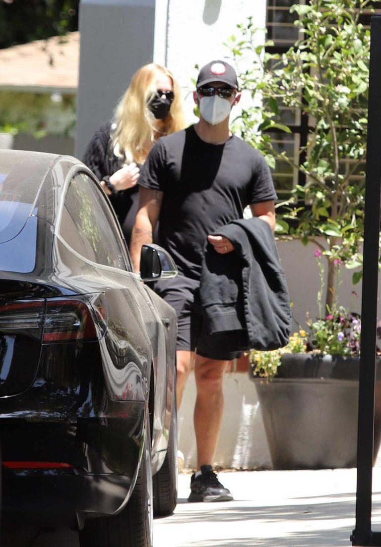 Joe Jonas in a Protective Mask