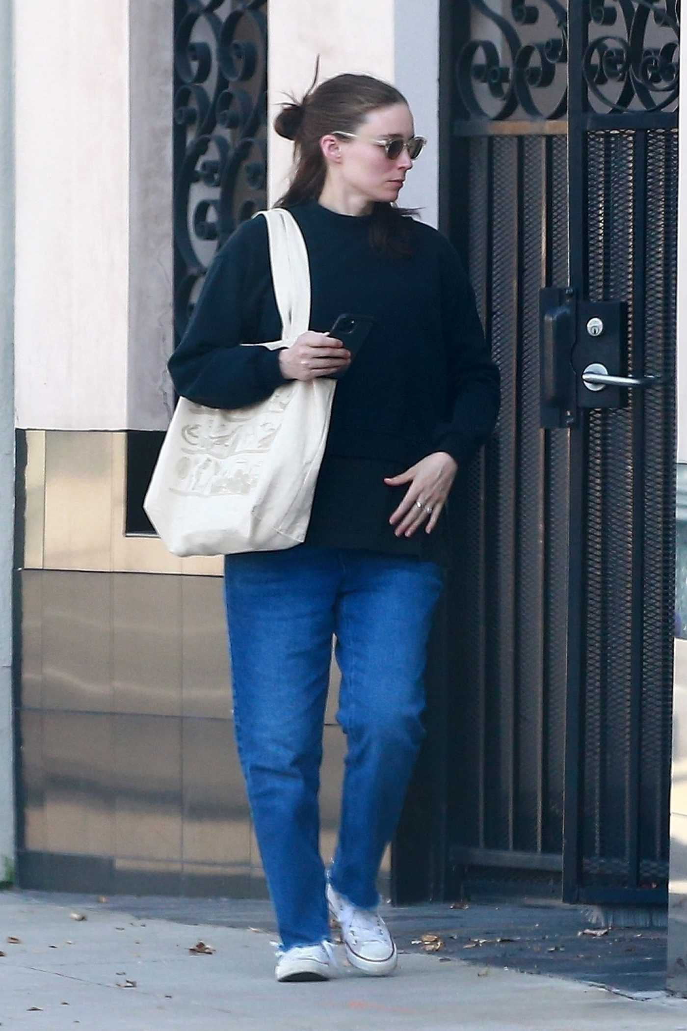 Rooney Mara in a Converse Trainers Was Seen Out in Los Angeles 06/16/2020