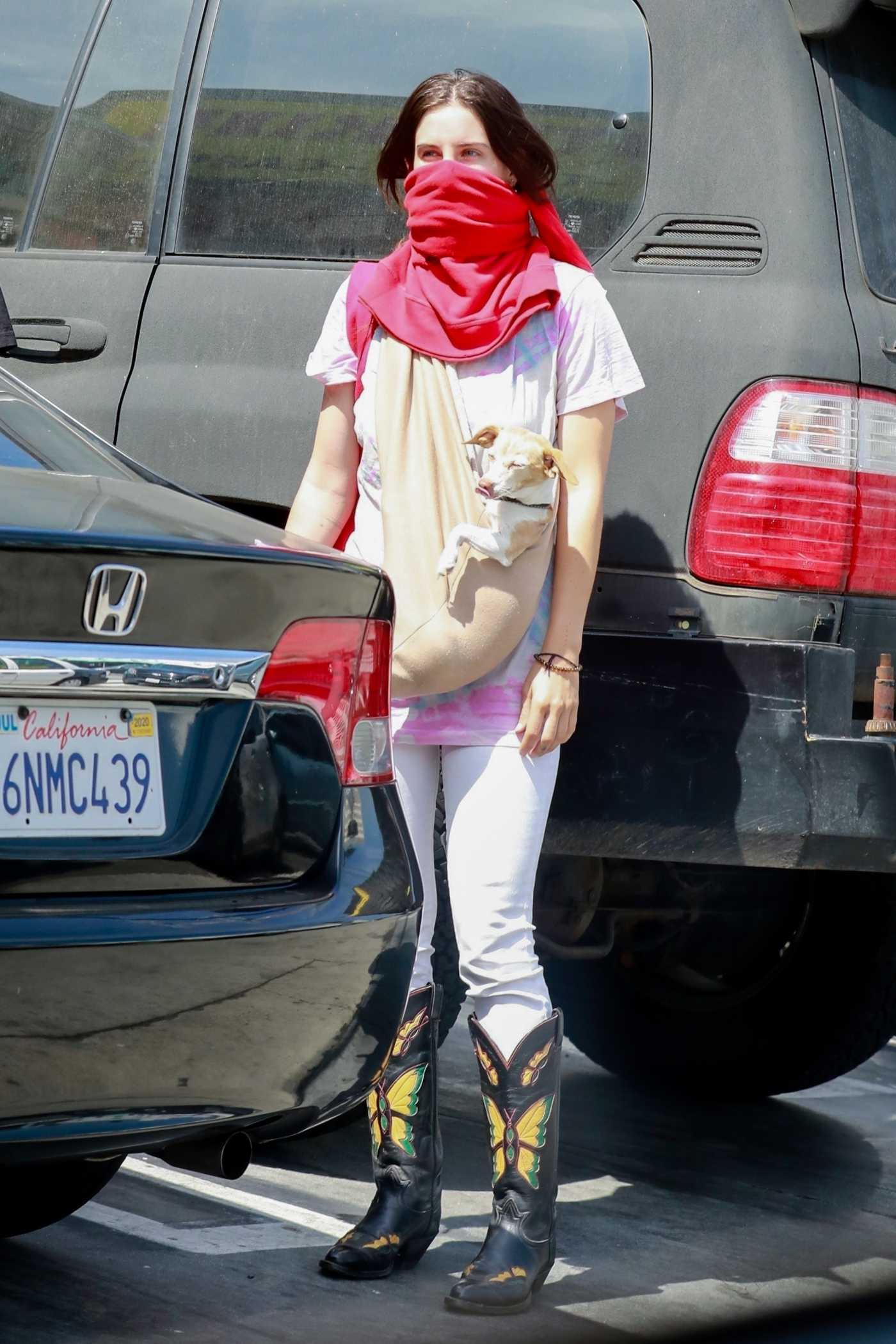 Scout Willis in a White Jeans Was Seen Out in Los Angeles 06/23/2020