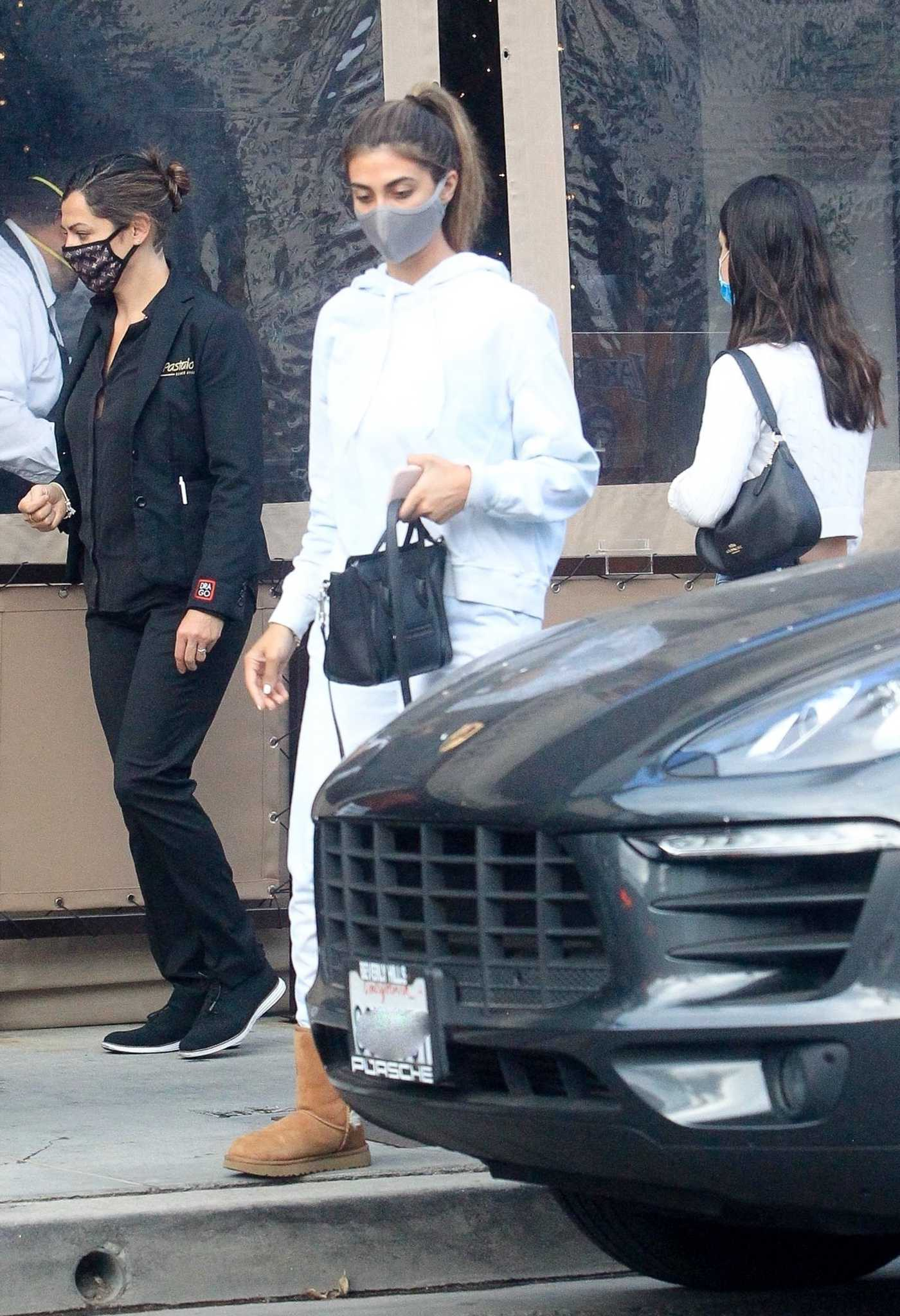 Asifa Mirza in a Protective Mask Was Seen Out in West Hollywood 06/30/2020