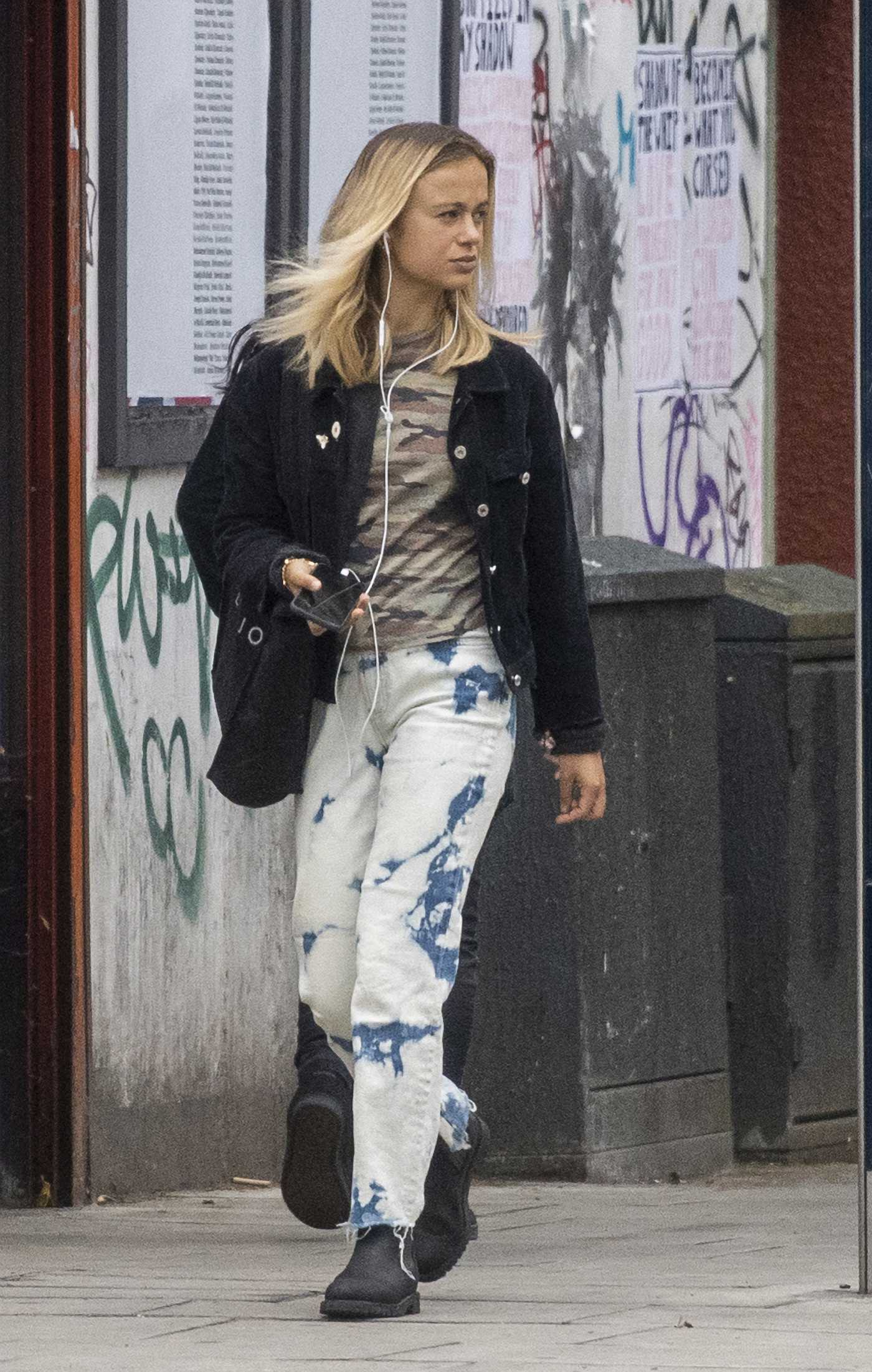 Lady Amelia Windsor in a Black Jacket Was Seen Out in London 06/30/2020
