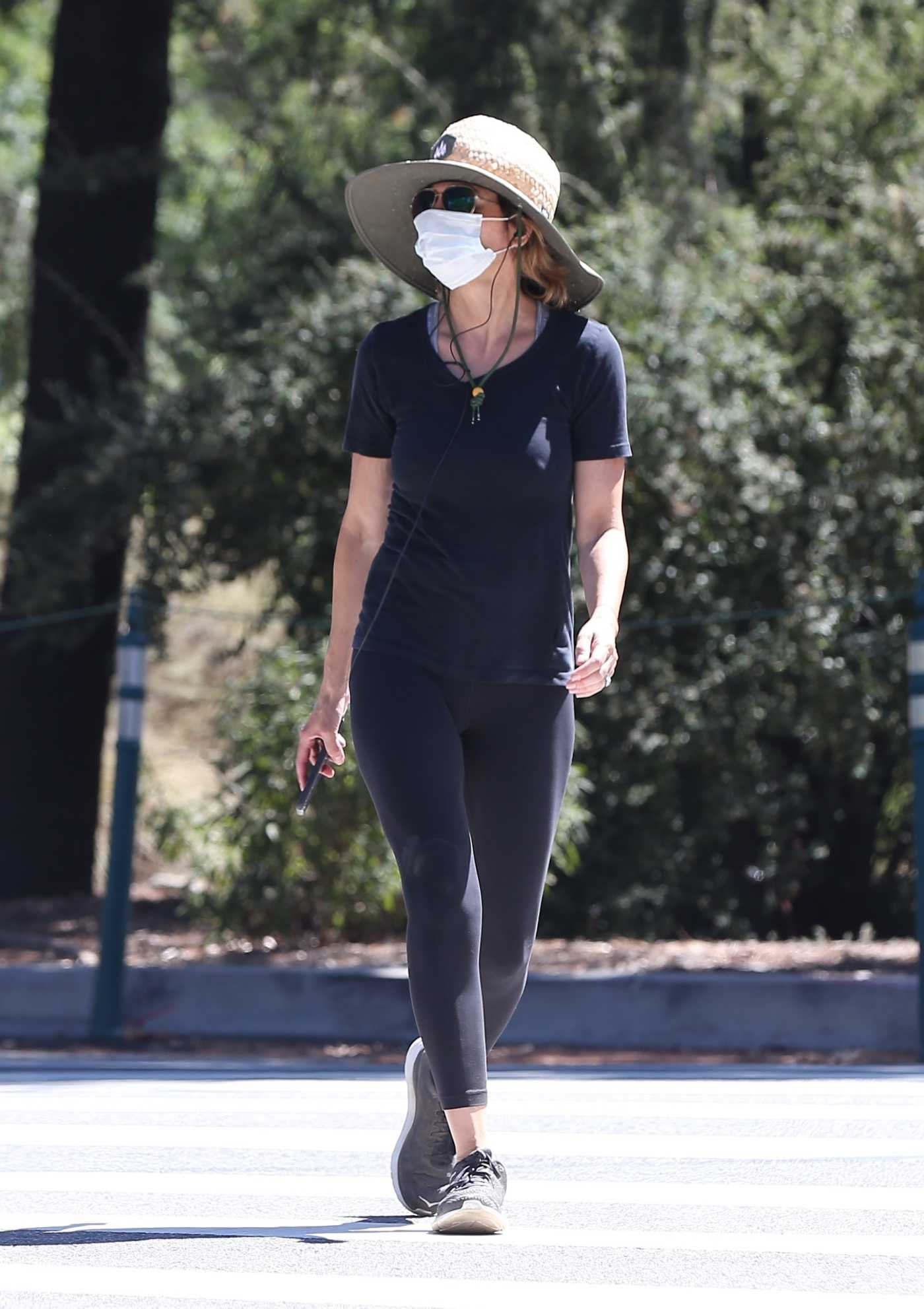 Lisa Rinna in a Protective Mask Was Seen Out in Los Angeles 07/03/2020