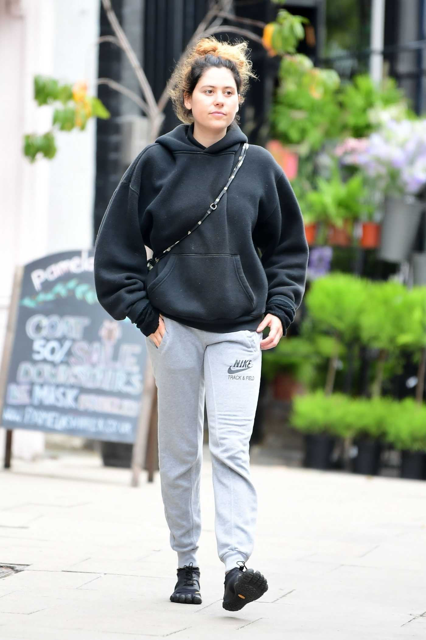 Eliza Doolittle in a Black Hoody Was Spotted Out in North London 09/09/2020