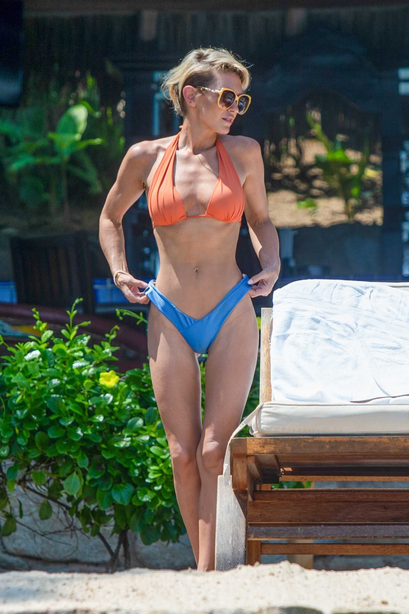 Nicky Whelan in Bikini on the Beach in Puerto Vallarta 08/31/2020