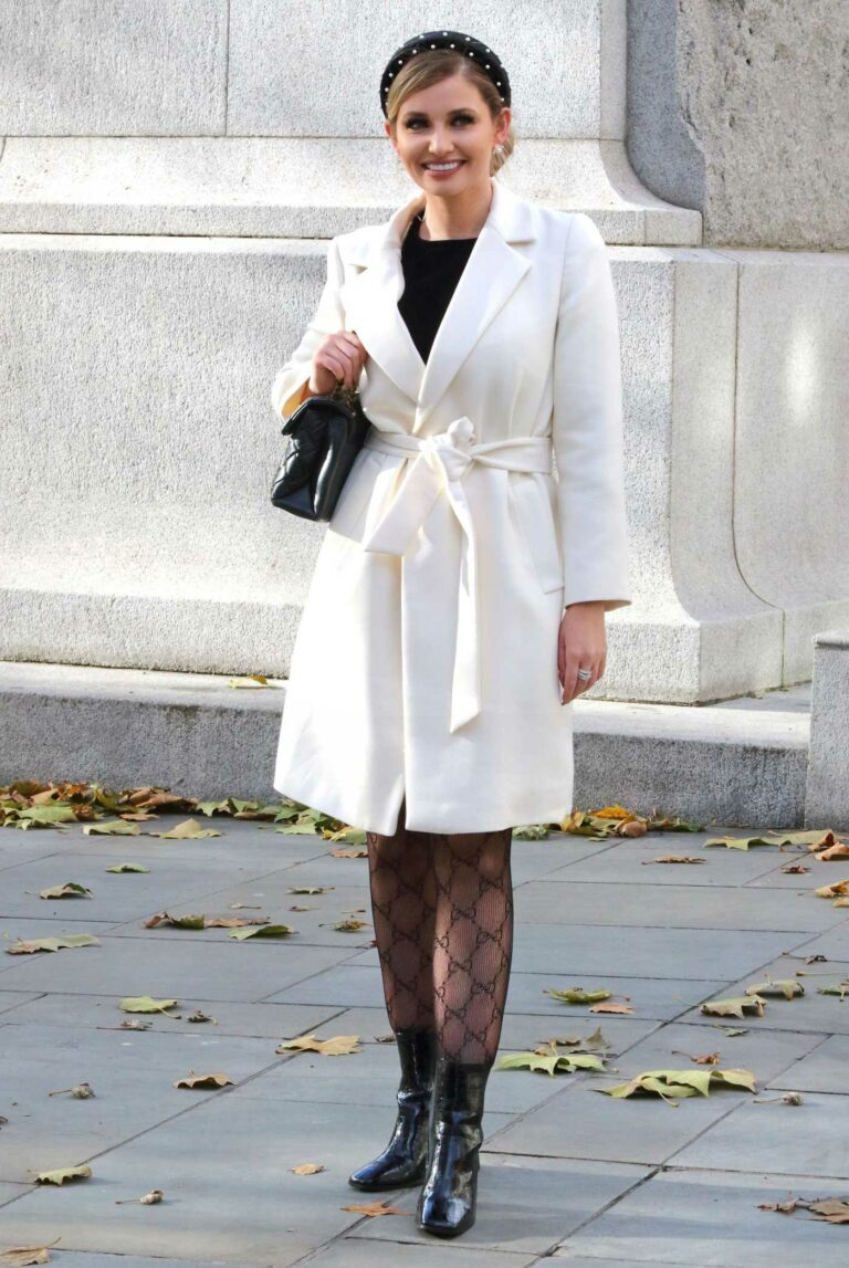 Amy Hart in a White Coat