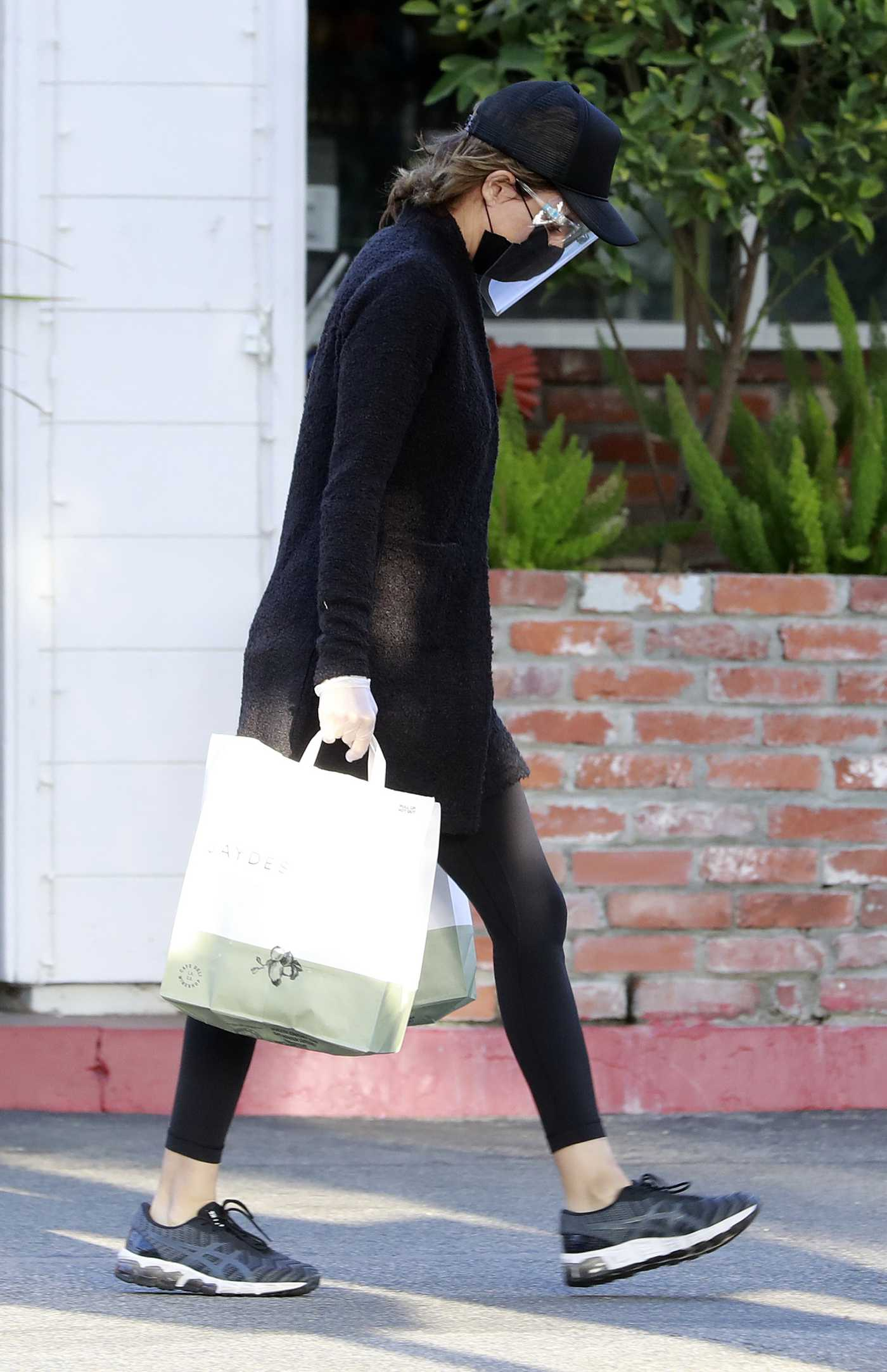 Lisa Rinna in a Black Cap Goes Shopping at the Glen Market in Los Angeles 12/11/2020