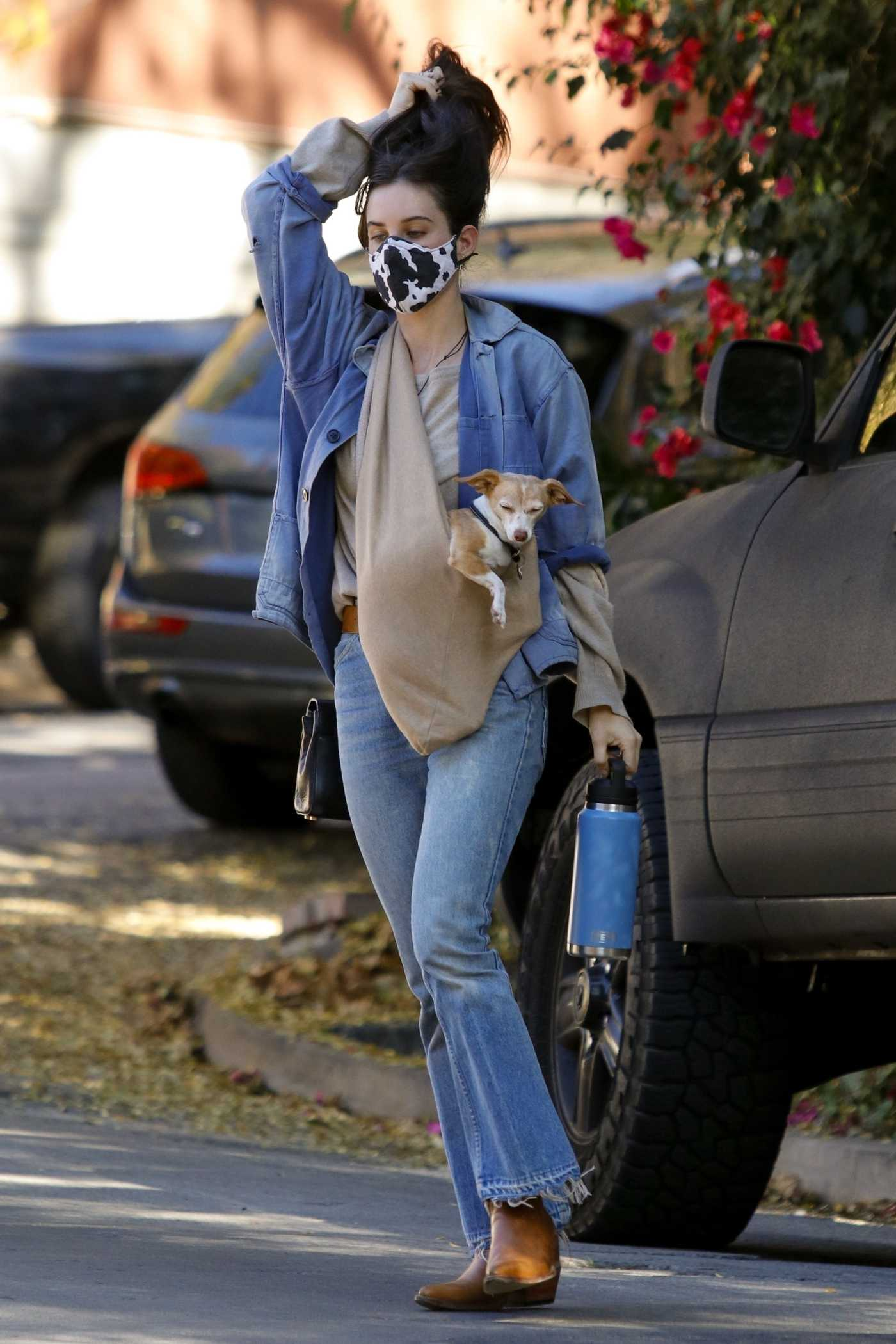 Scout Willis in a Blue Jeans Was Seen Out in Los Feliz 12/03/2020