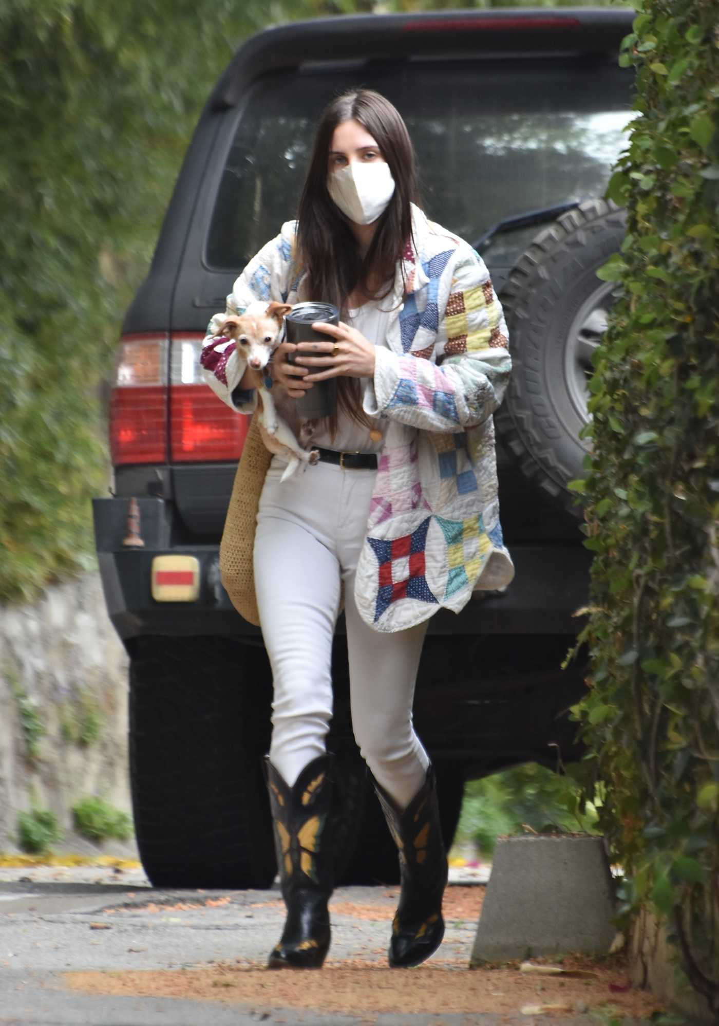 Scout Willis in a White Pants Was Seen Out in Studio City 04/21/2021