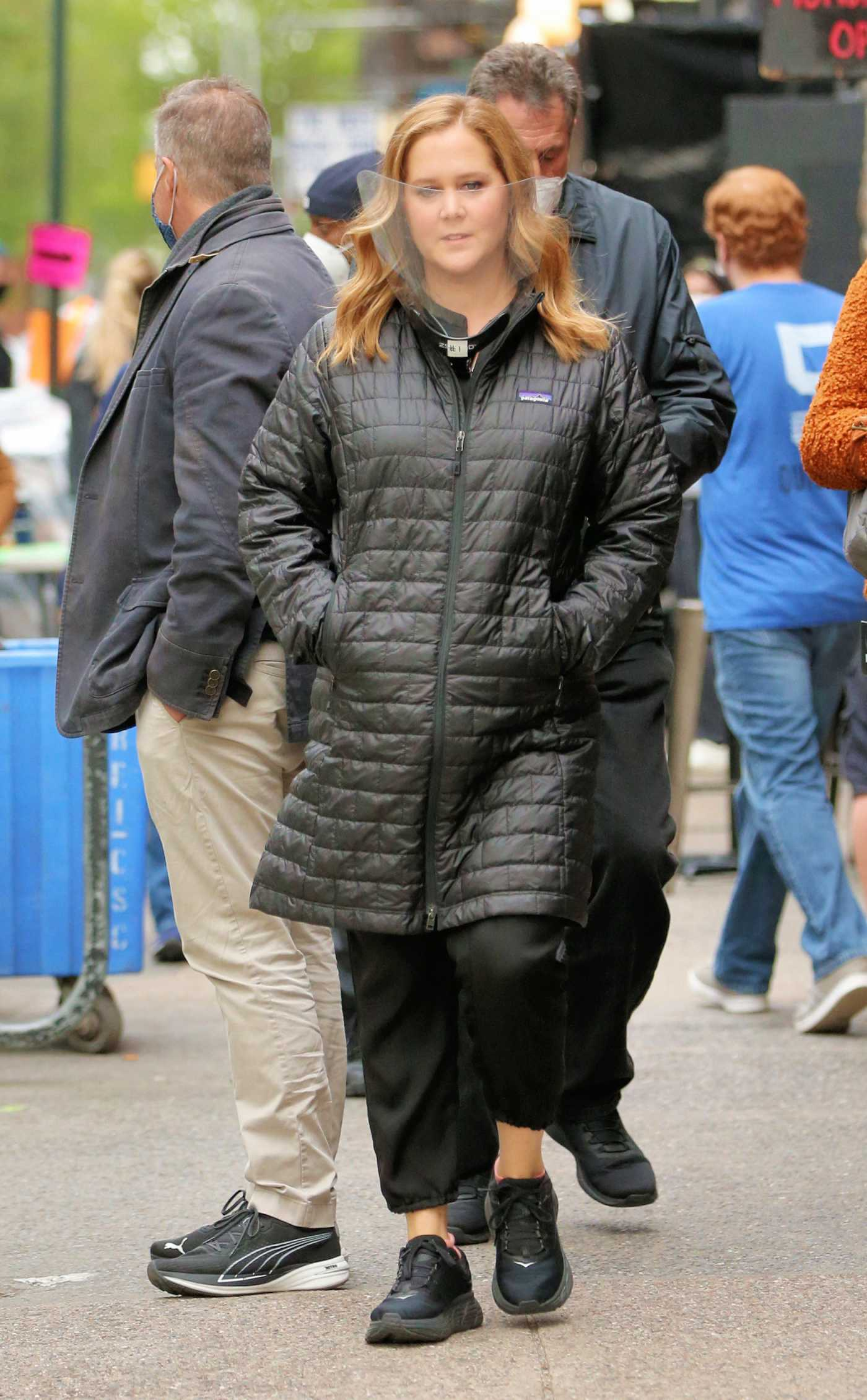 Amy Schumer in a Black Sneakers Was Seen Out in New York 05/07/2021