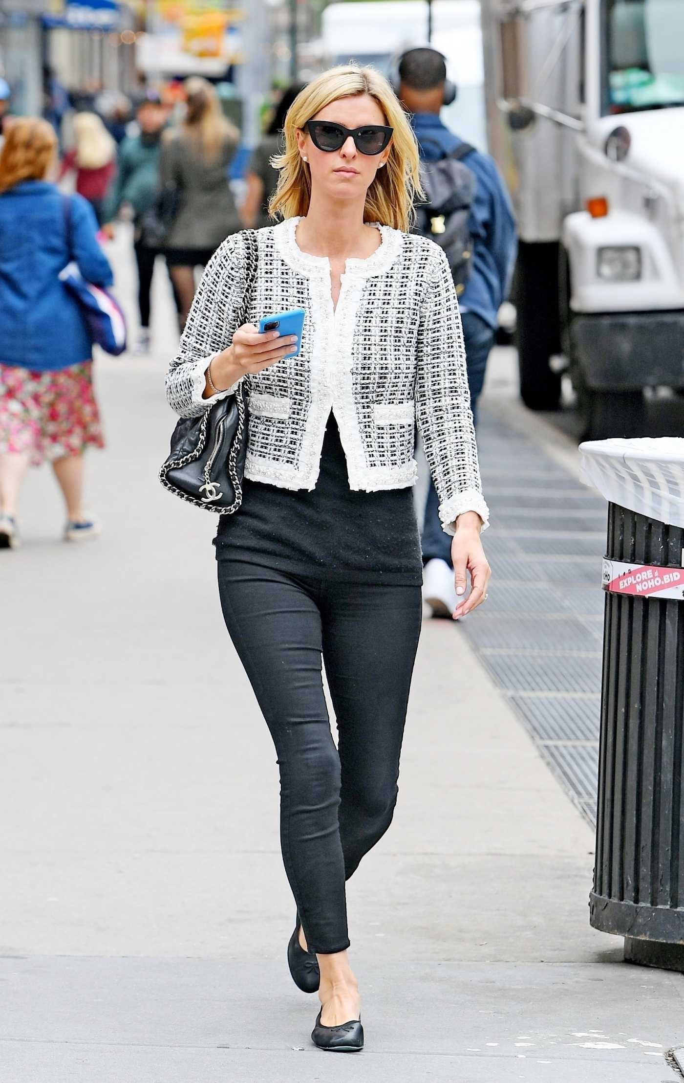 Nicky Hilton in a Black Pants Was Seen Out in East Village, New York 05/04/2021