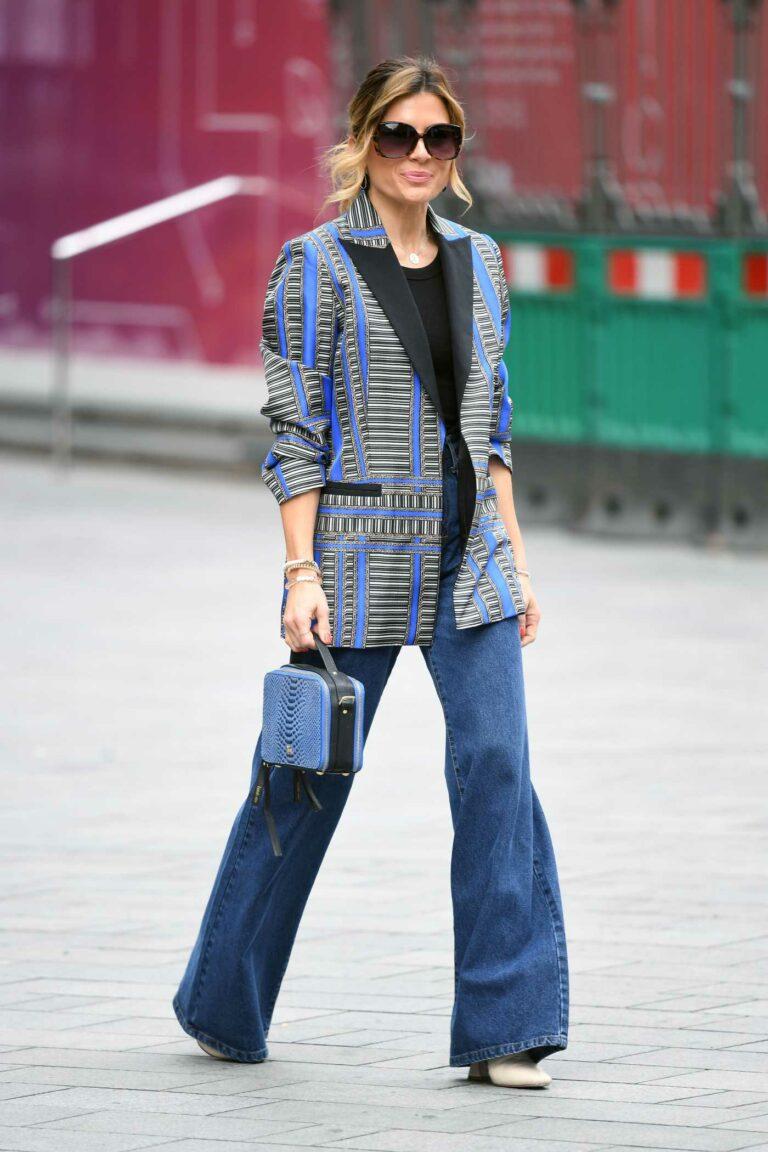 Zoe Hardman in a Blue Jeans