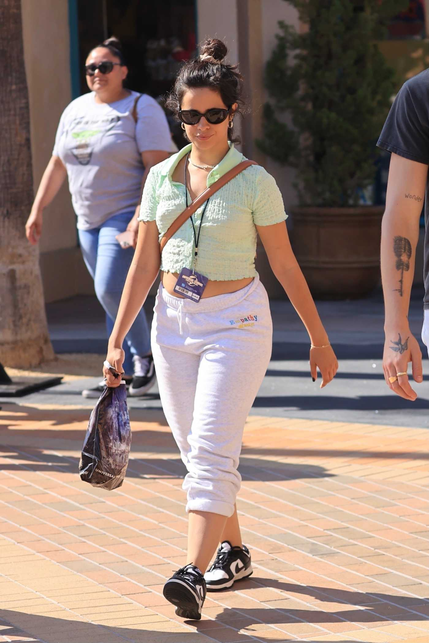 Camila Cabello in a Green Top Was Seen Out in Los Angeles 06/20/2021