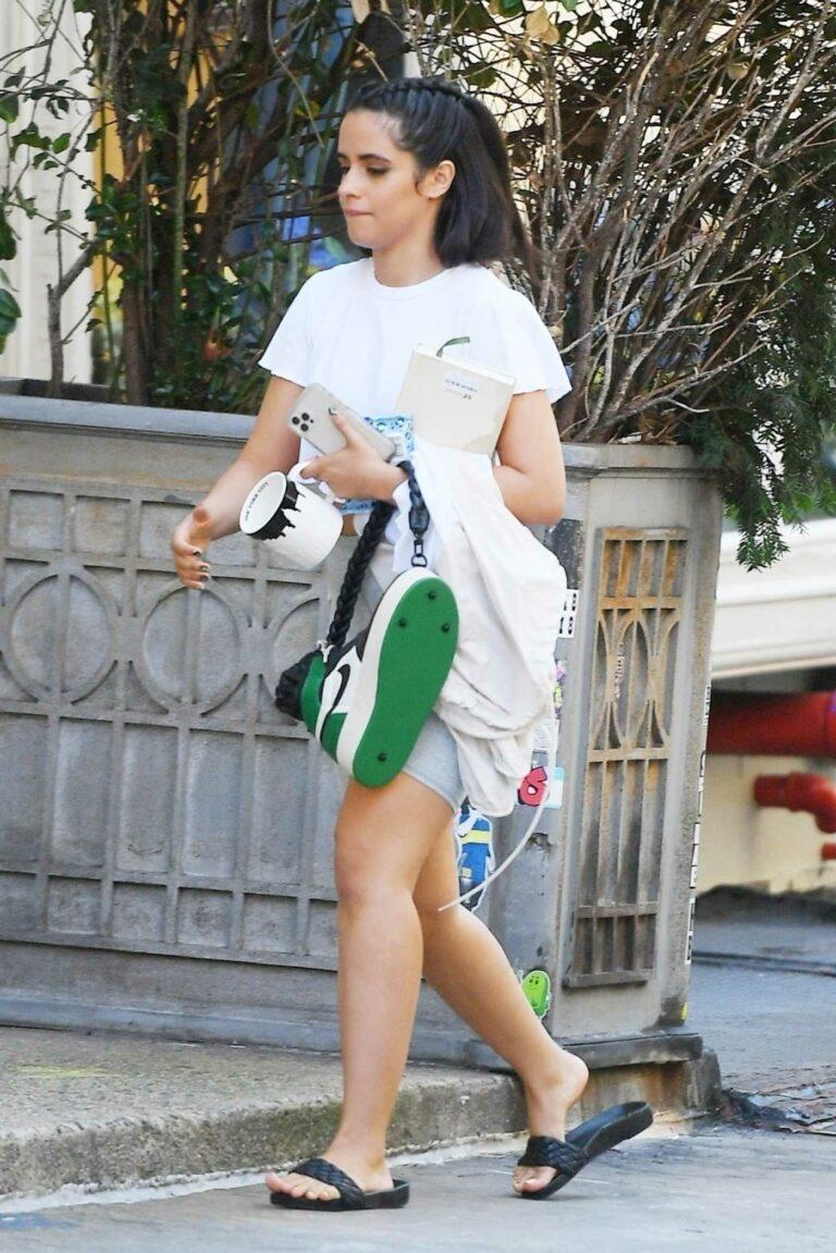 Camila Cabello in a White Tee