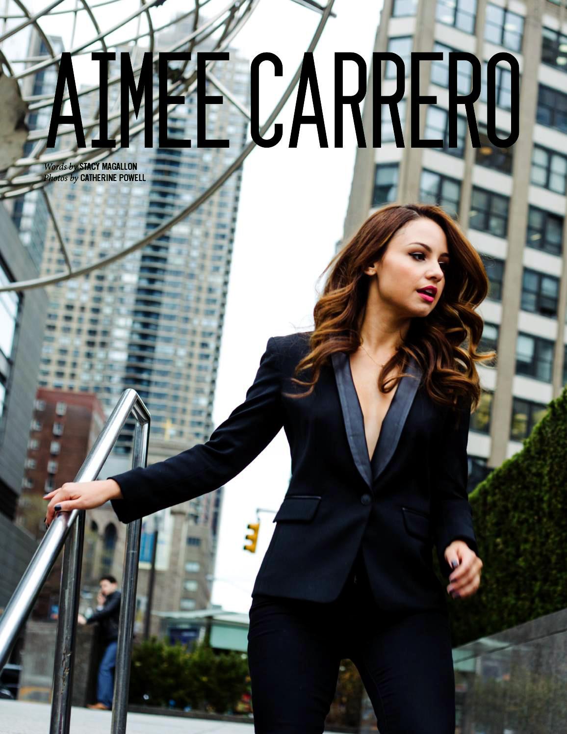 Aimee Carrero NKD Magazine Cover