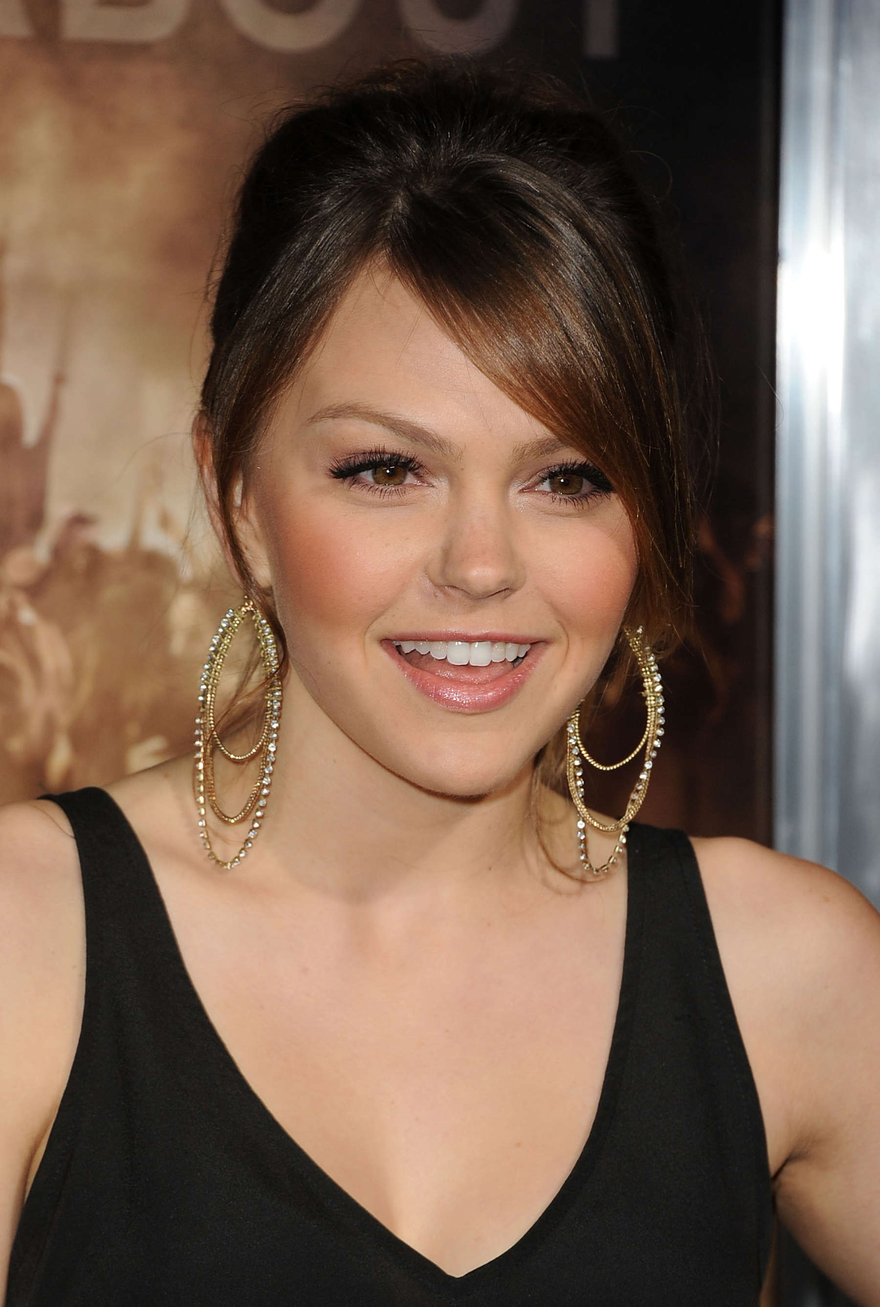 Aimee Teegarden at PROJECT-X premiere in Los Angeles