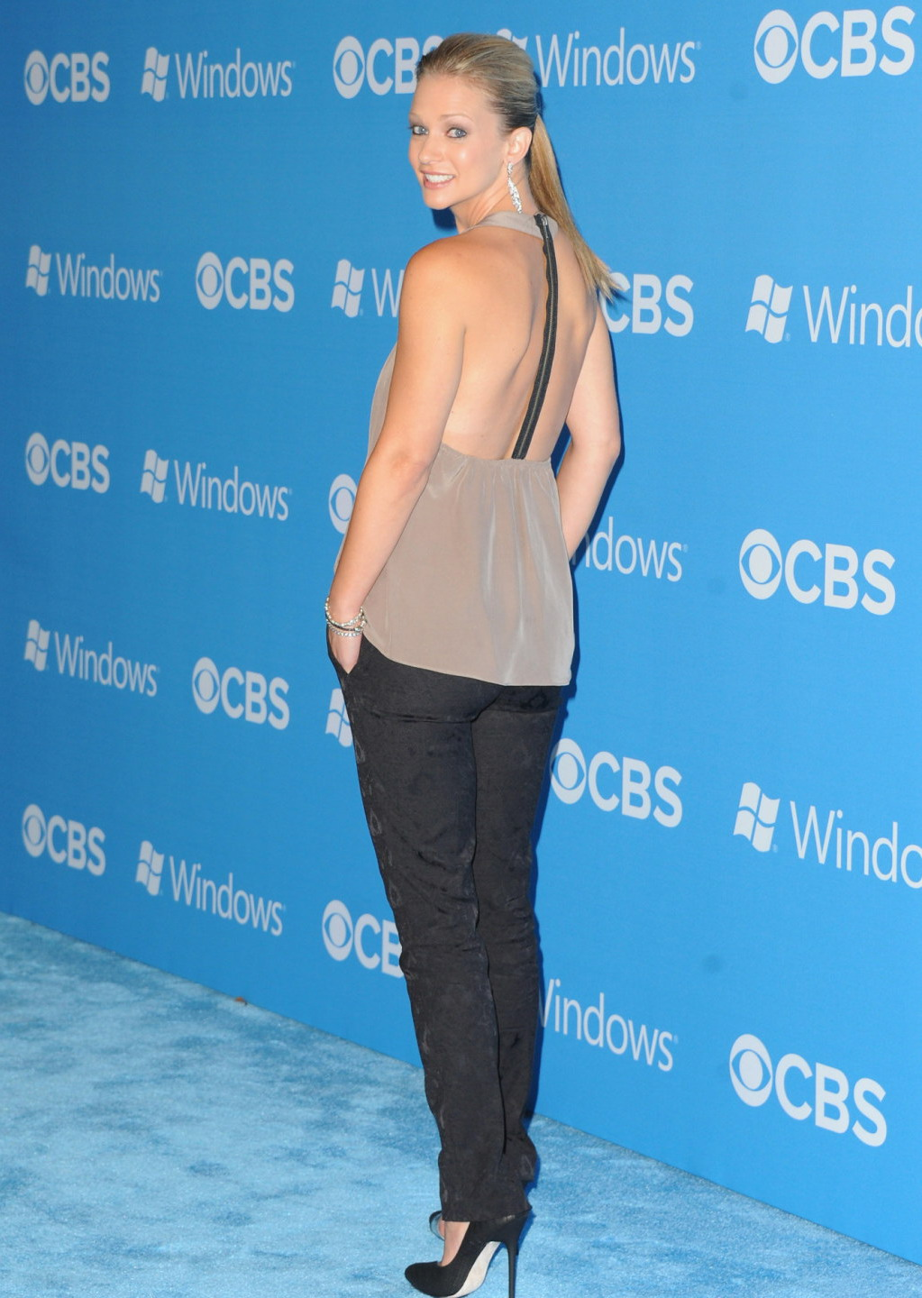 AJ Cook CBS Fall Premiere Party in West Hollywood