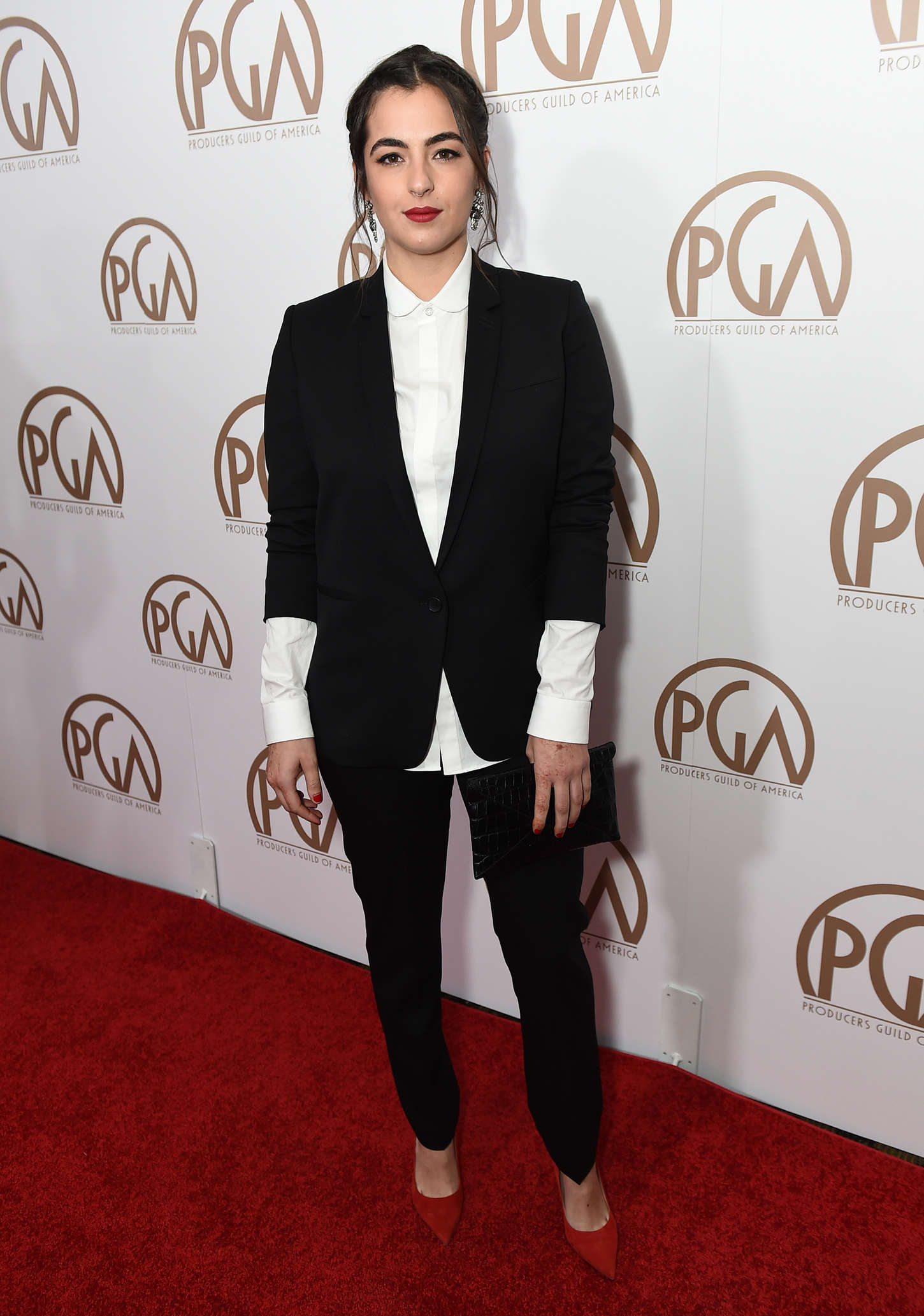 Alanna Masterson Annual Producers Guild Of America Awards in Los Angeles