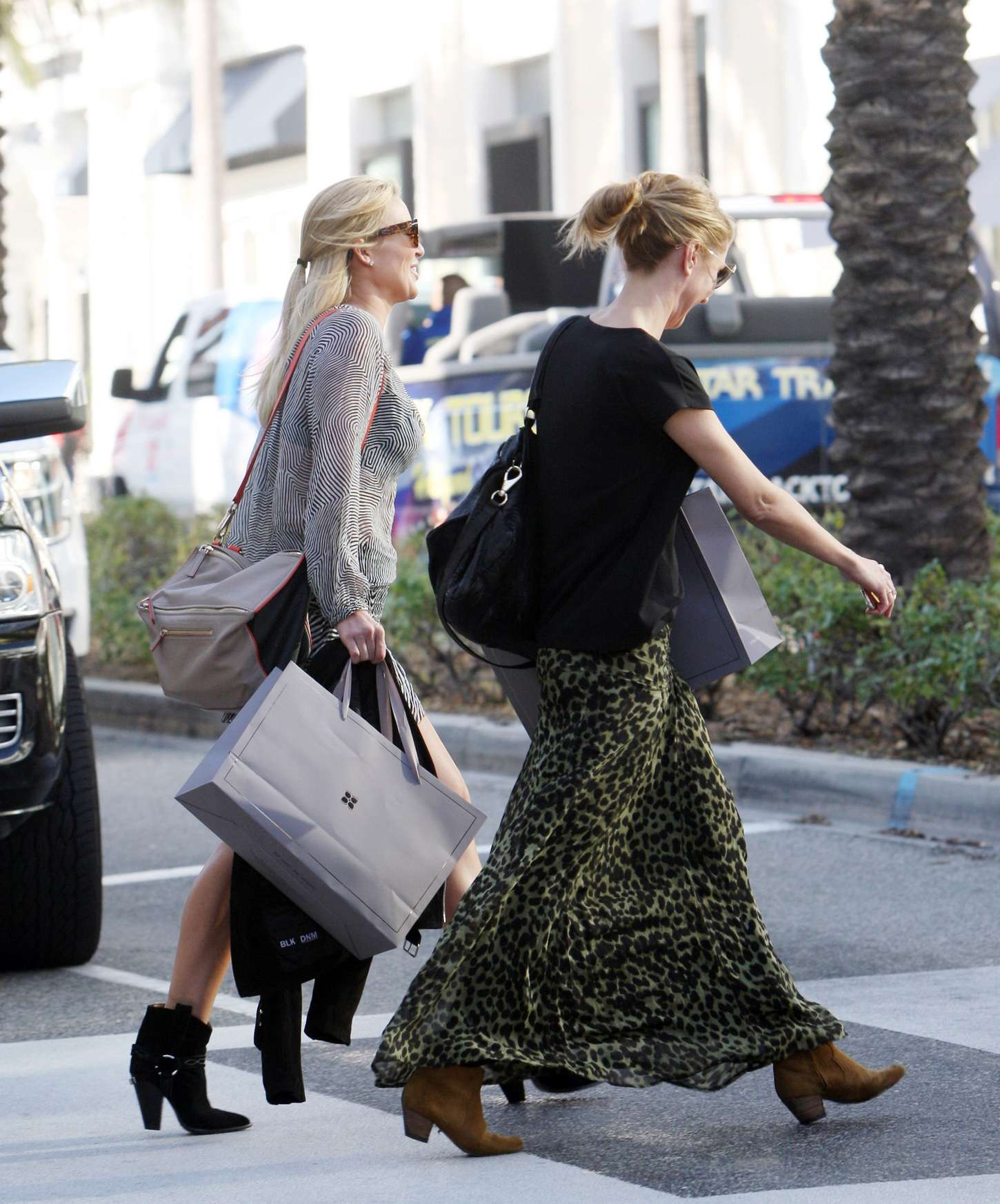 Alex Gerrard Shopping on Rodeo Drive