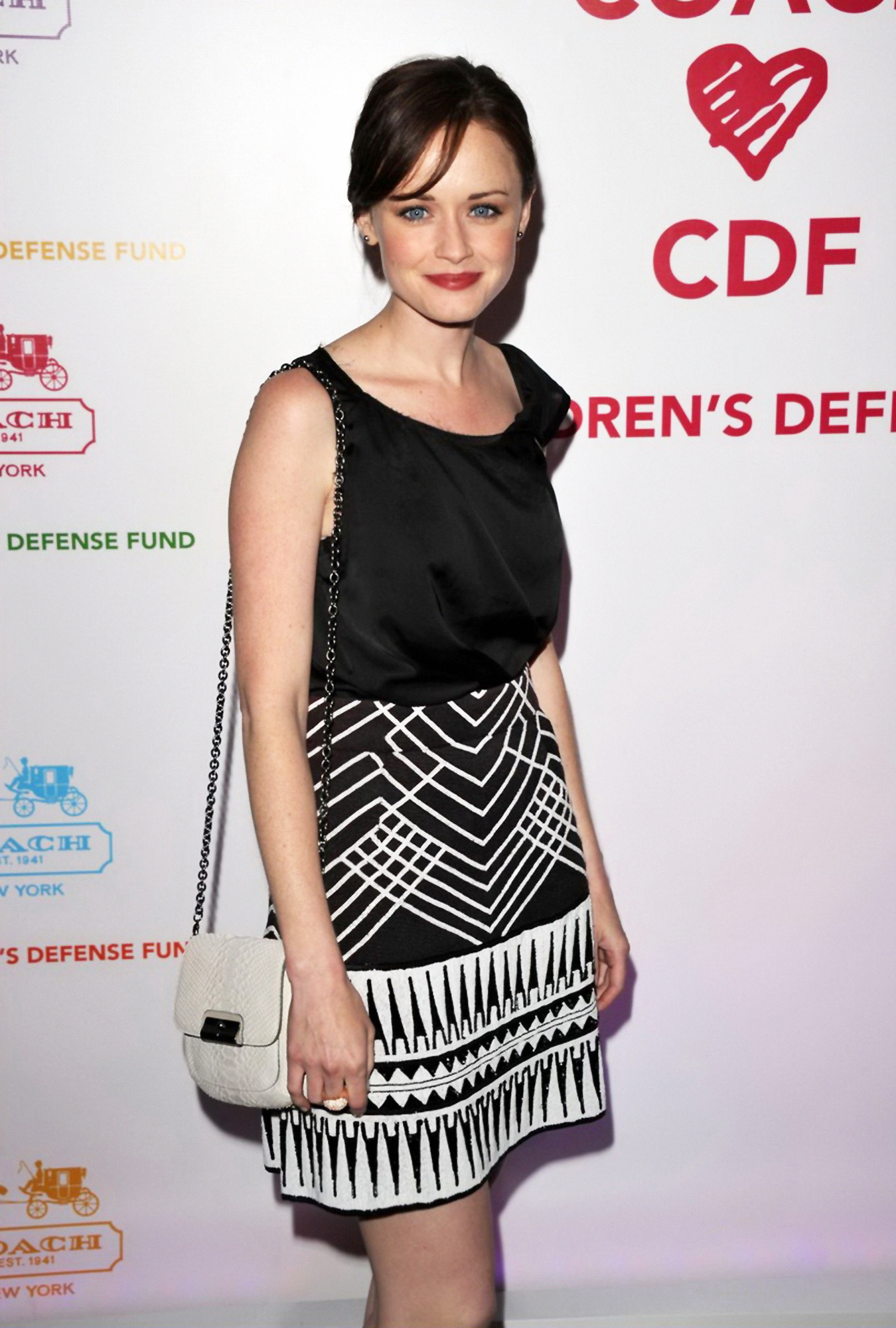 Alexis Bledel at Childrens Defense Fund Cocktail Party