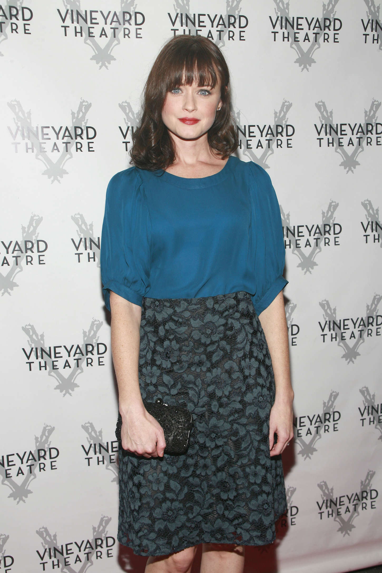 Alexis Bledel Opening Night Arrivals for Billy Ray in New York