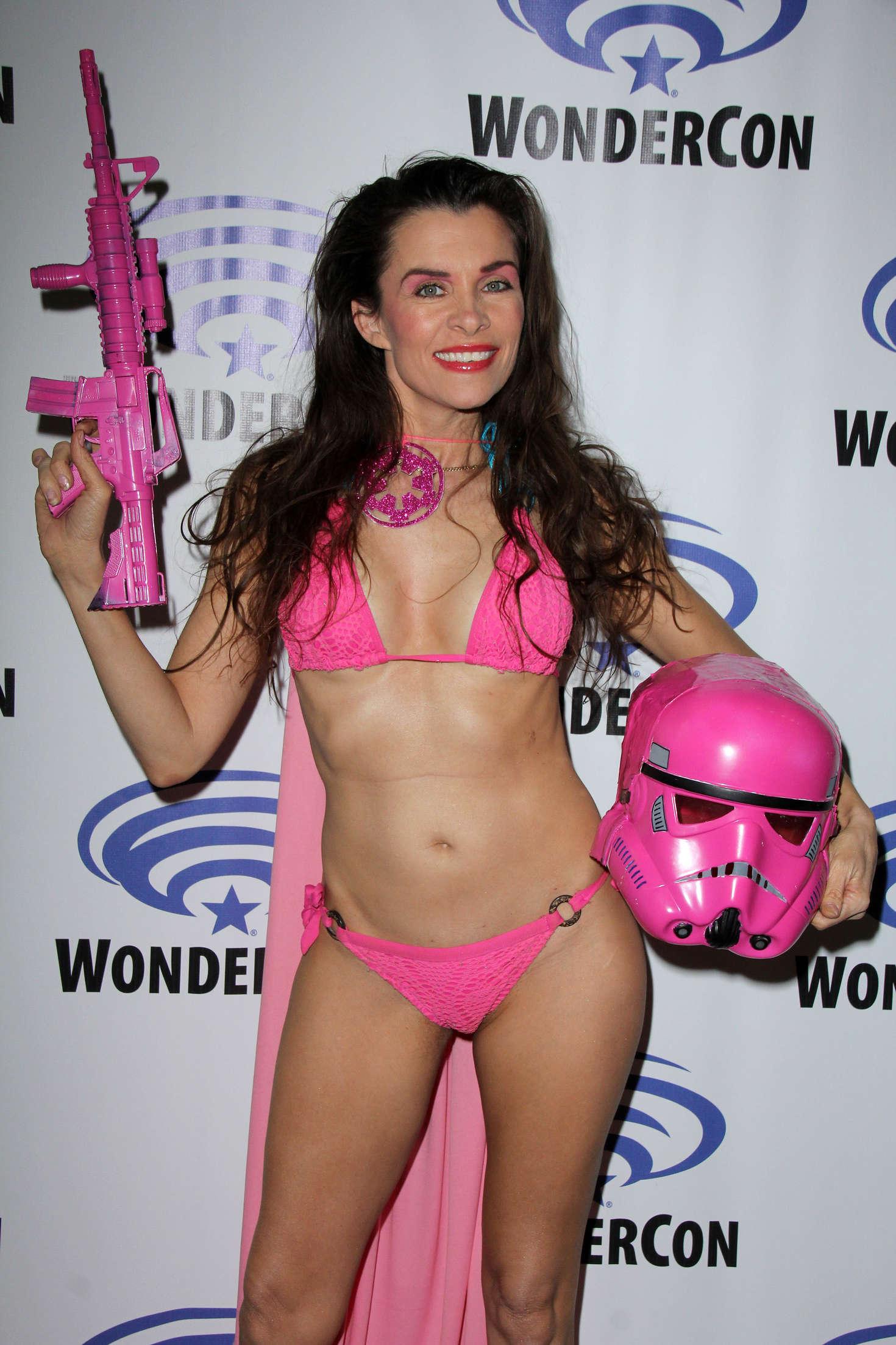 Alicia Arden at WonderCon in Los Angeles
