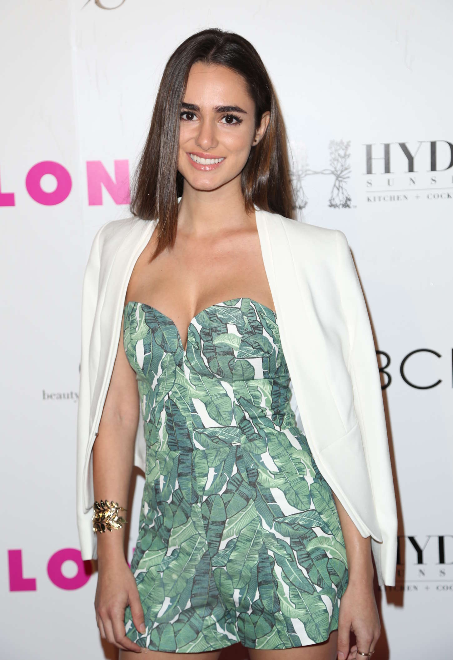 Alicia Sanz NYLON Young Hollywood Party presented by BCBGeneration in Hollywood
