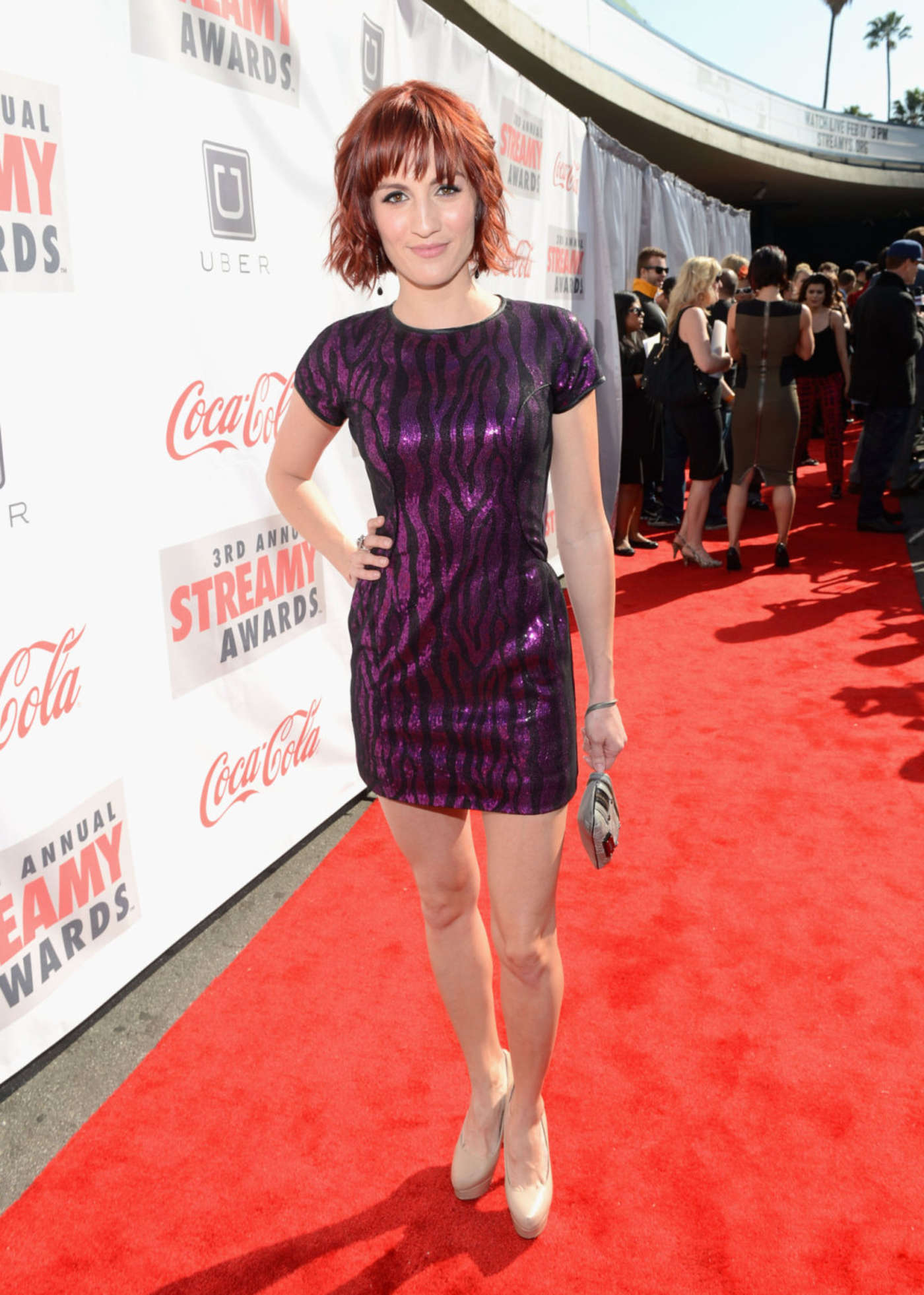 Alison Haislip Annual Streamy Awards in Hollywood