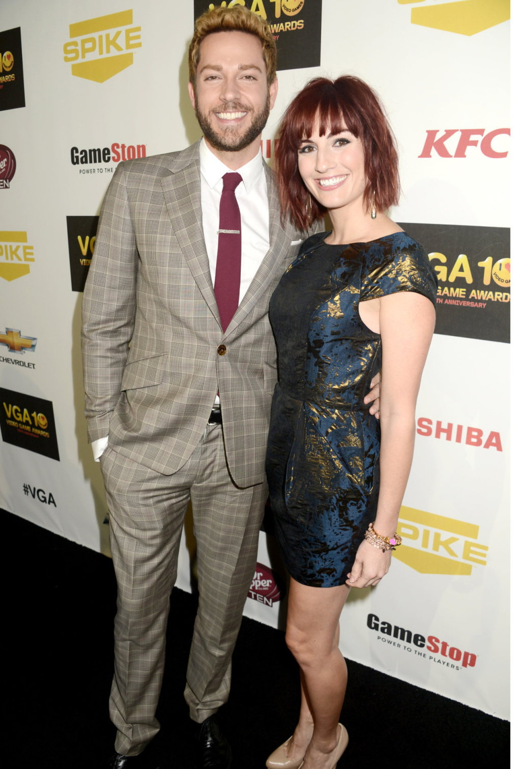 Alison Haislip Spike TVs Annual Video Game Awards in Culver City