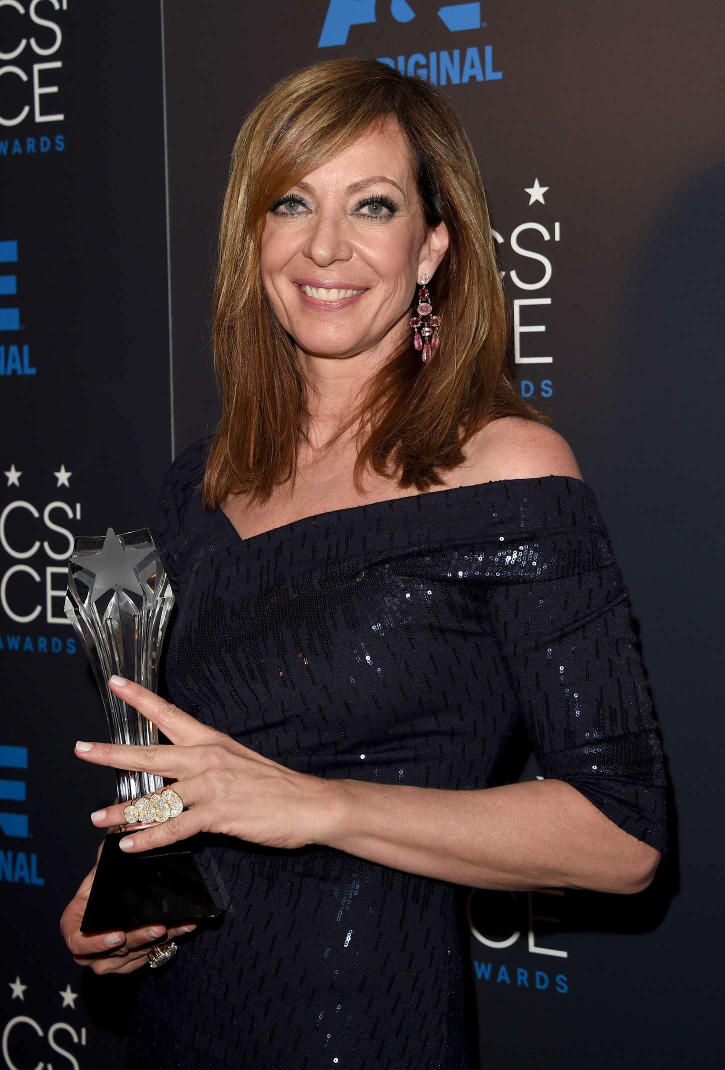 Allison Janney Annual Critics Choice Television Awards in Beverly Hills