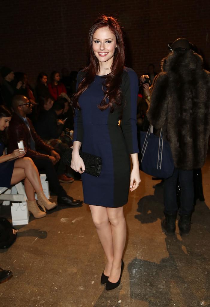 Alyssa Campanella Rolando Santana fashion show in New York