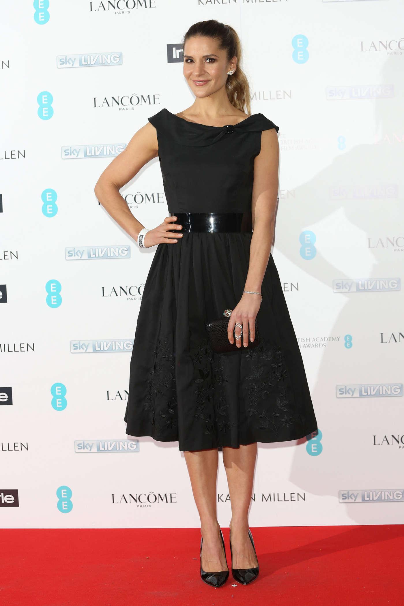 Amanda Byram pre-BAFTA InStyle EE Rising Star Bash in London