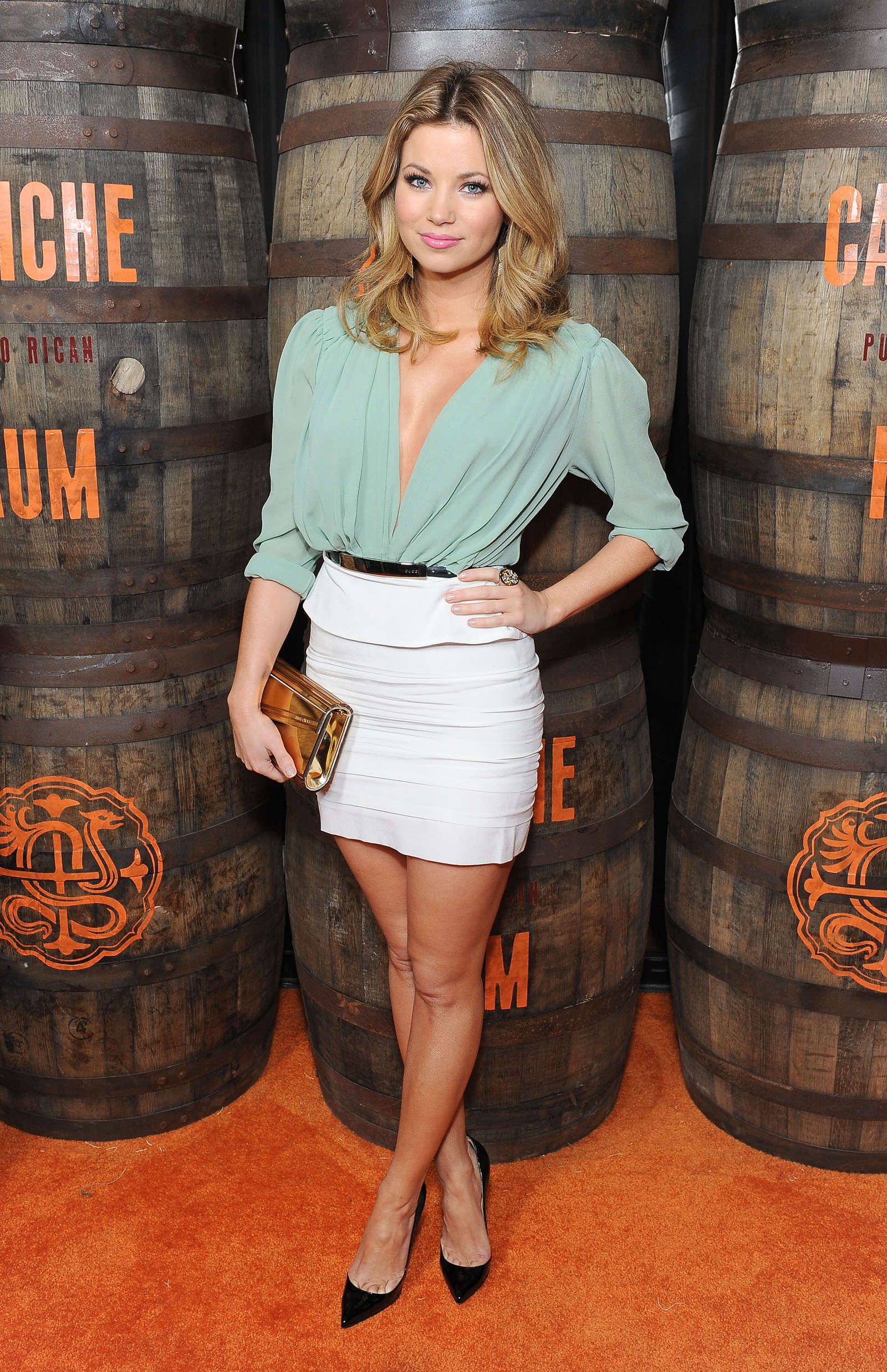 Amber Lancaster Launch of Caliche Rum in Hollywood