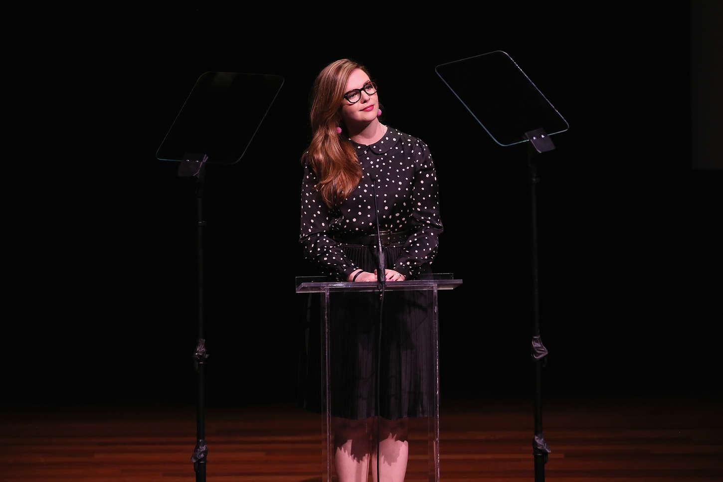 Amber Tamblyn Annual Lucille Lortel Awards in New York