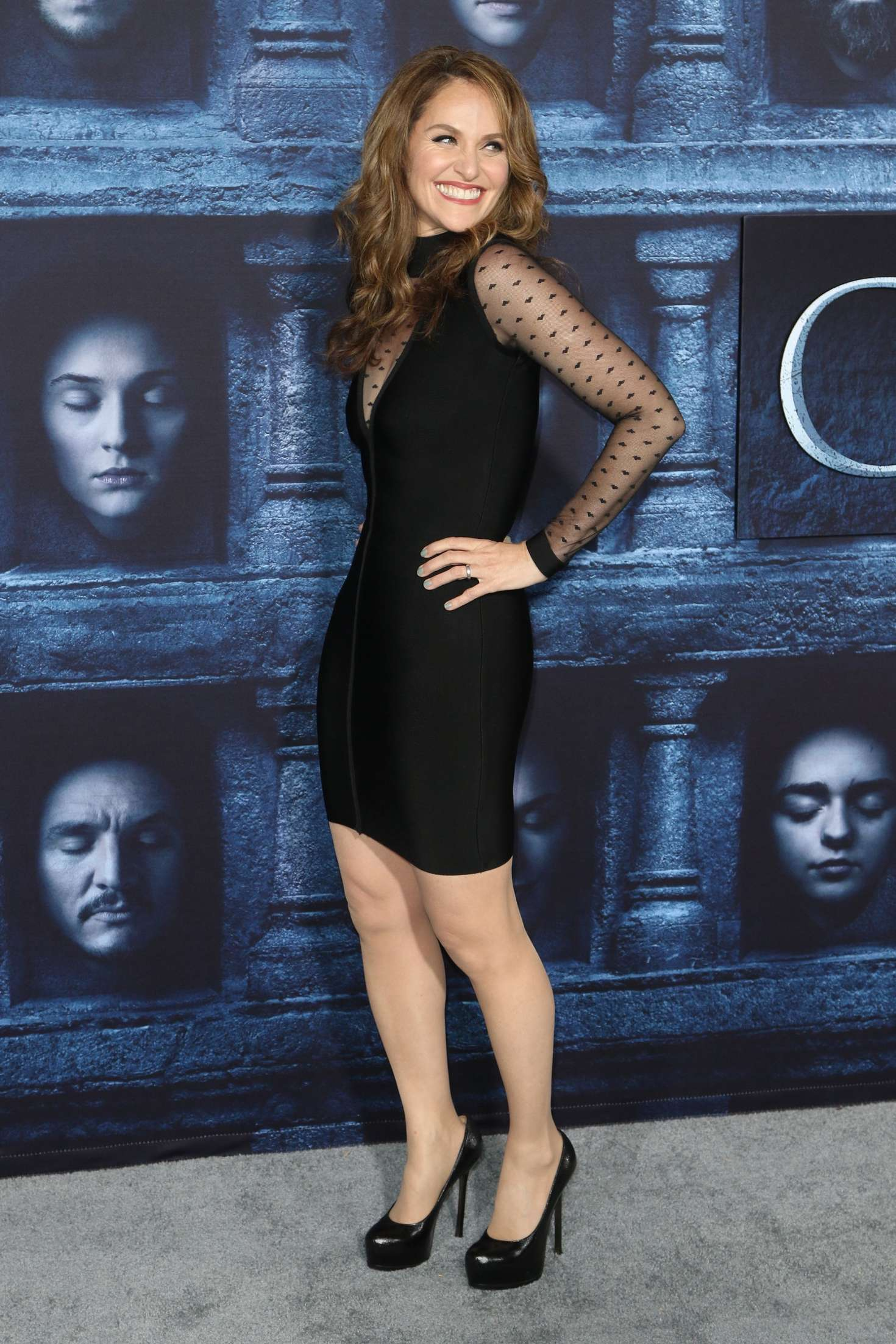 Amy Brenneman Game of Thrones Season Premiere in Hollywood