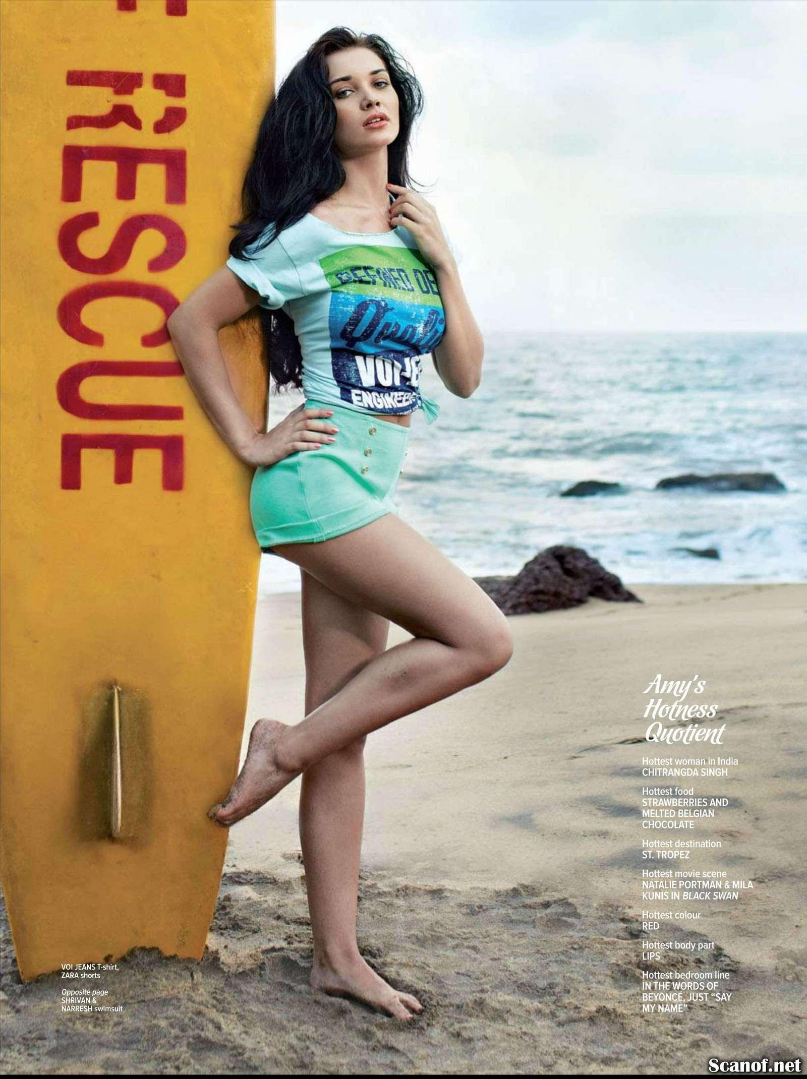 Amy Jackson Maxim India Magazine