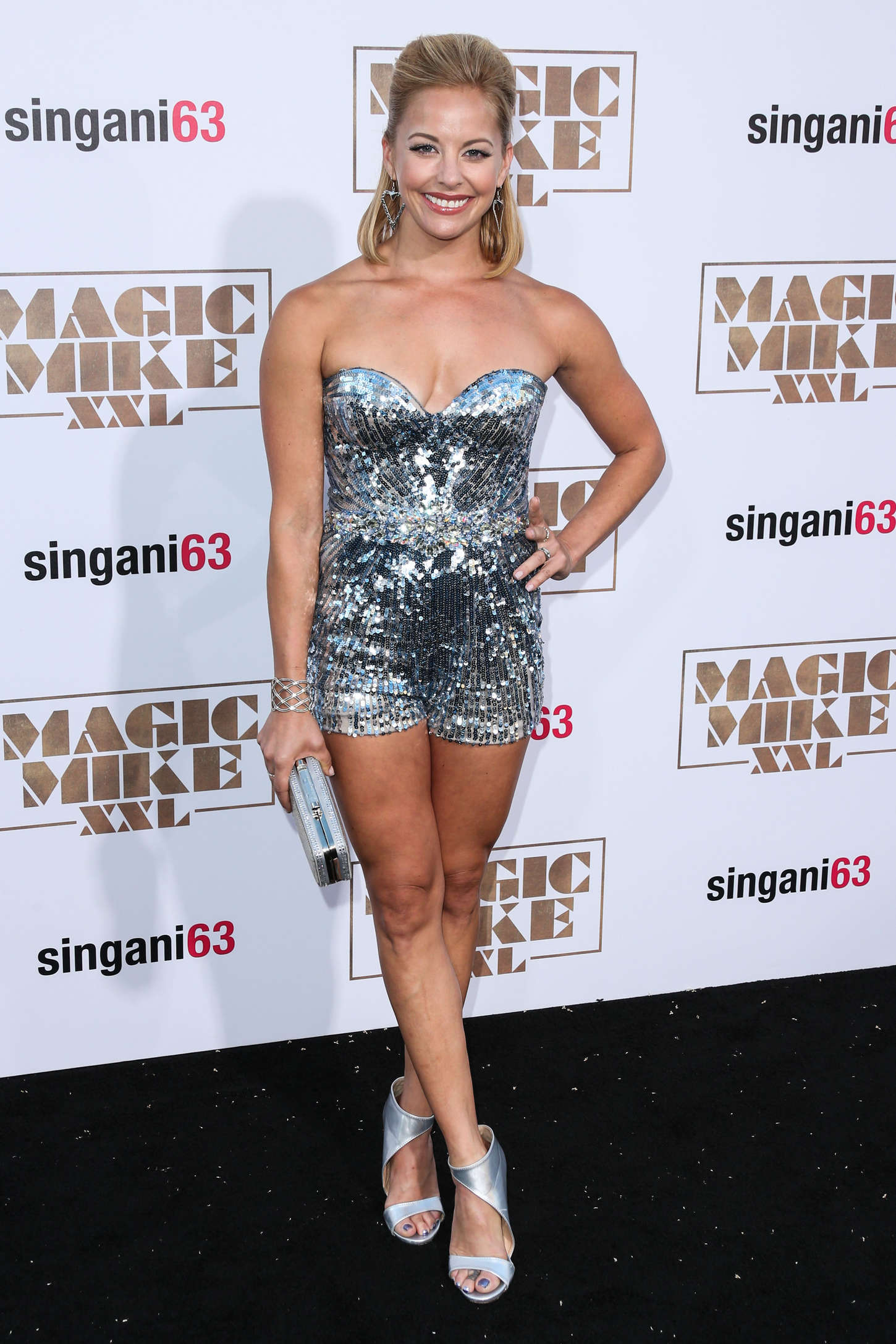 Amy Paffrath Magic Mike XXL Premiere in Los Angeles