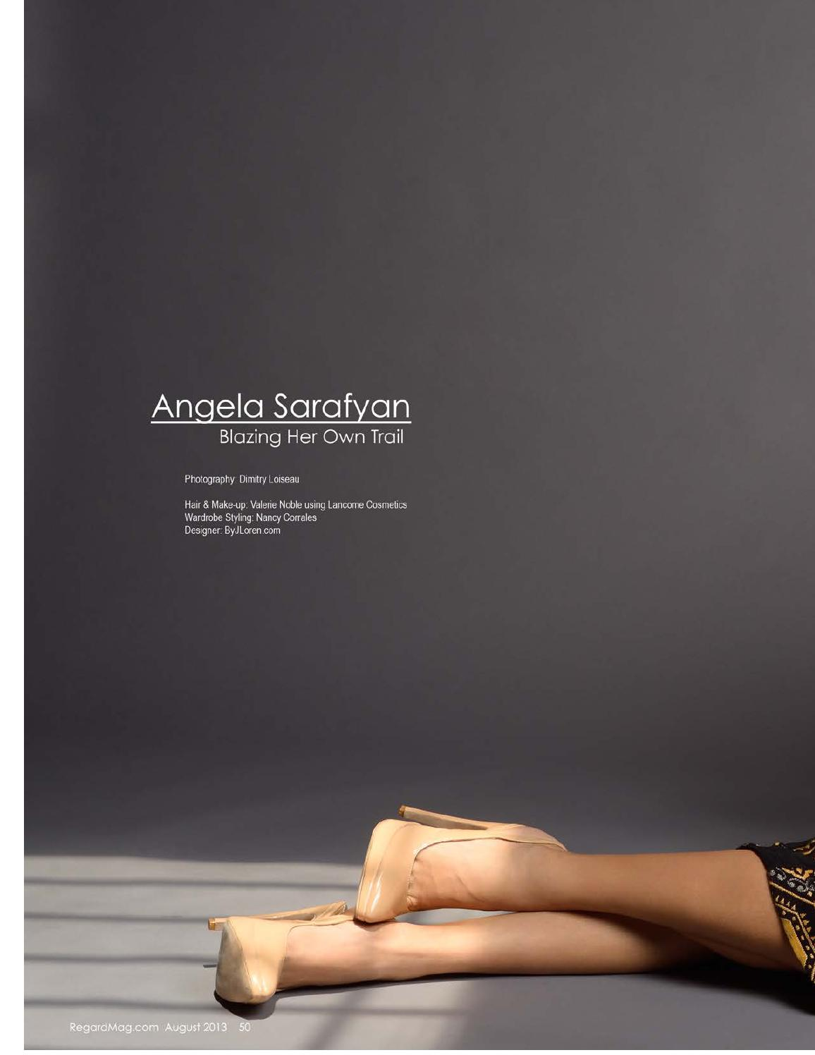 Angela Sarafyan Regard magazine
