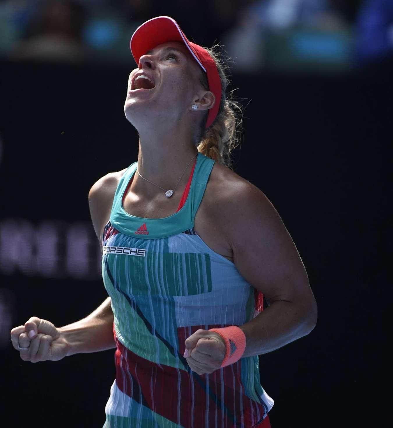 Angelique Kerber Australian Open in Melbourne