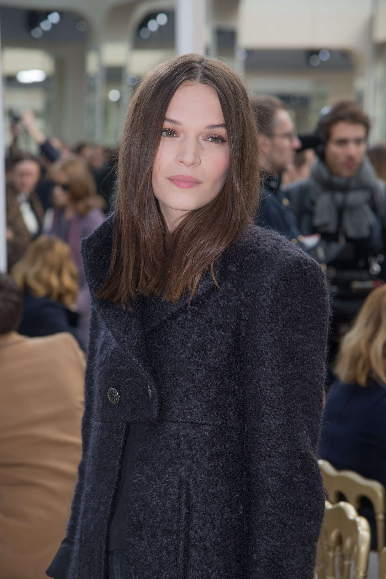 Anna Brewster Chanel Fashion Show in Paris