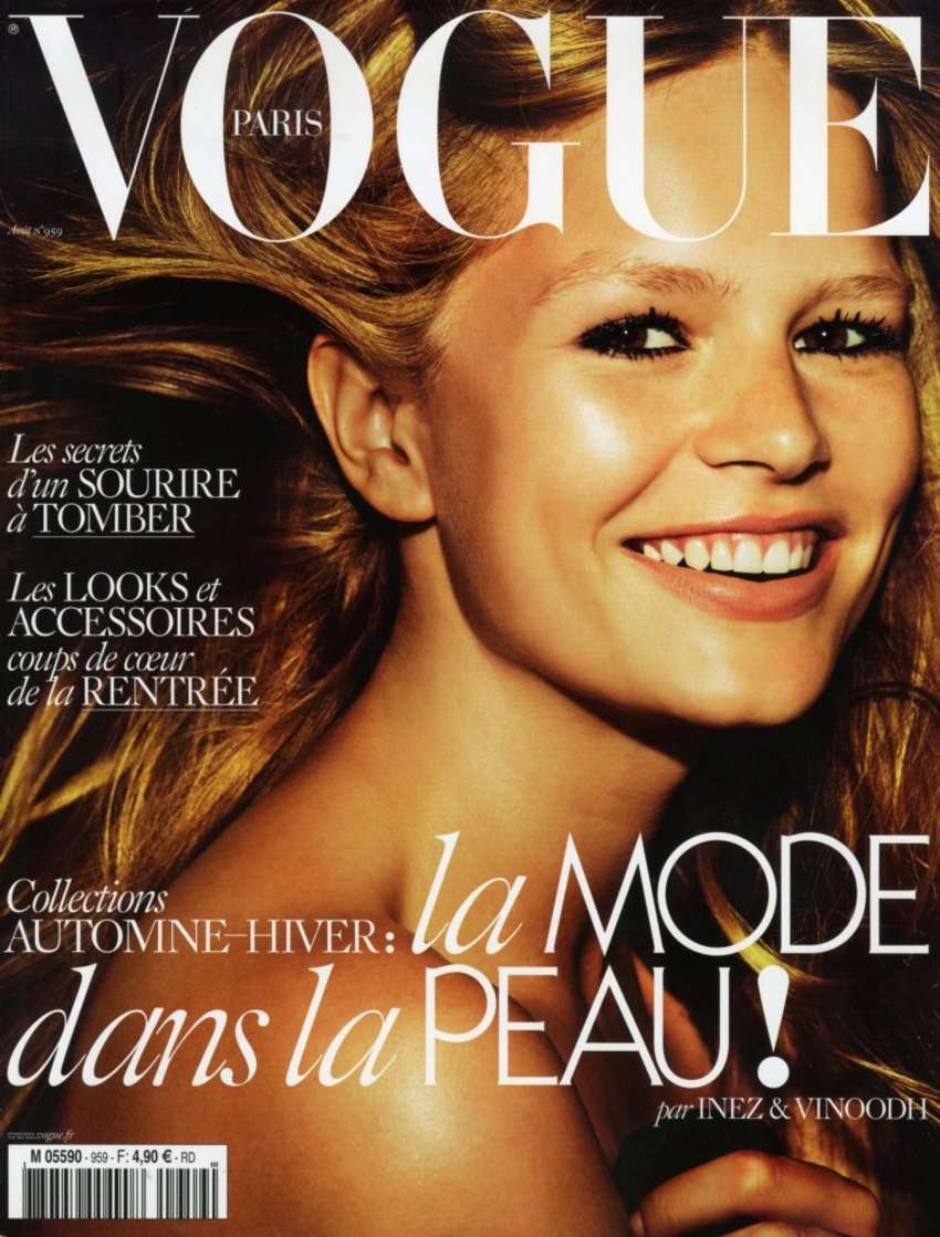 Anna Ewers Vogue Paris Magazine