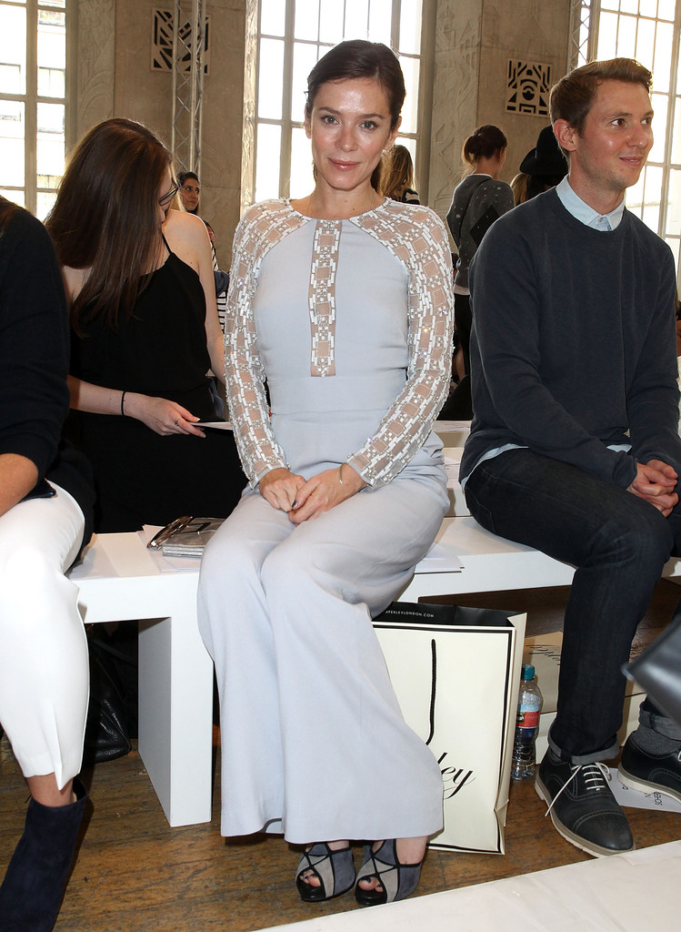 Anna Friel Alice Temperley Show SS London Fashion Week