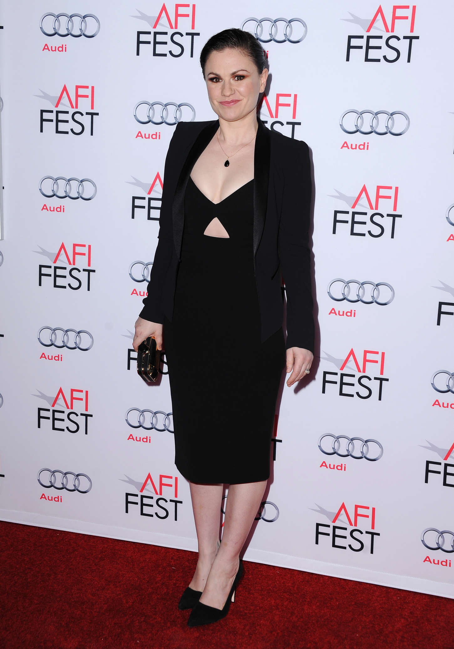 Anna Paquin AFI FEST Centerpiece Gala Concussion Premiere in Hollywood