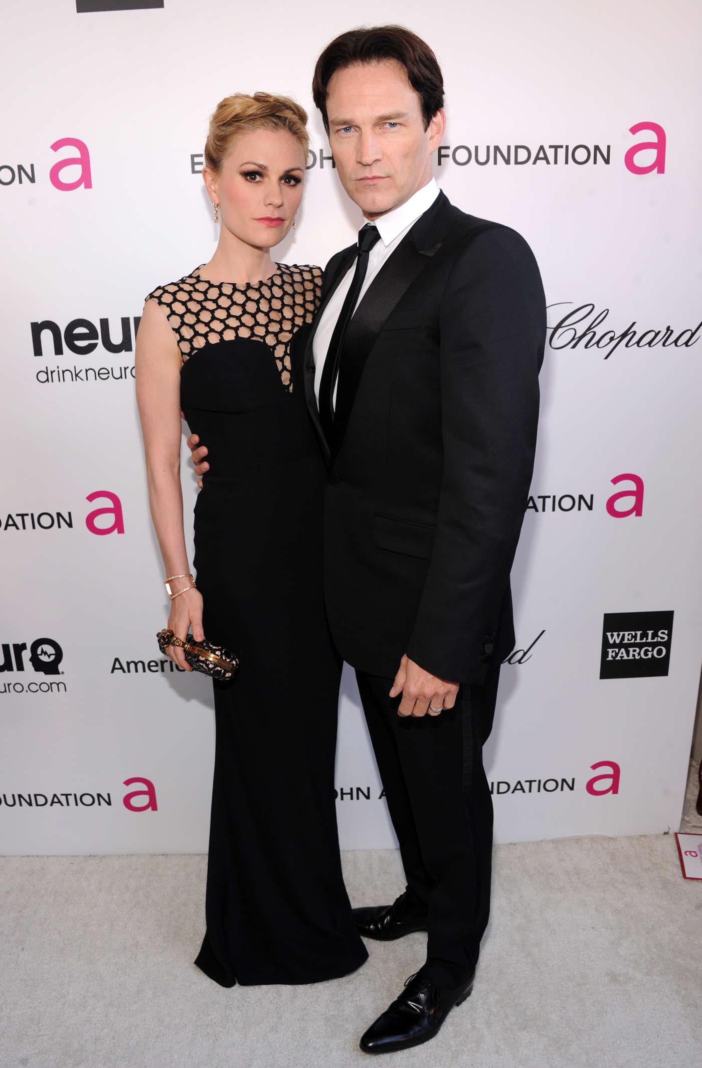 Anna Paquin Oscar Elton John AIDS Foundation Academy Awards Party