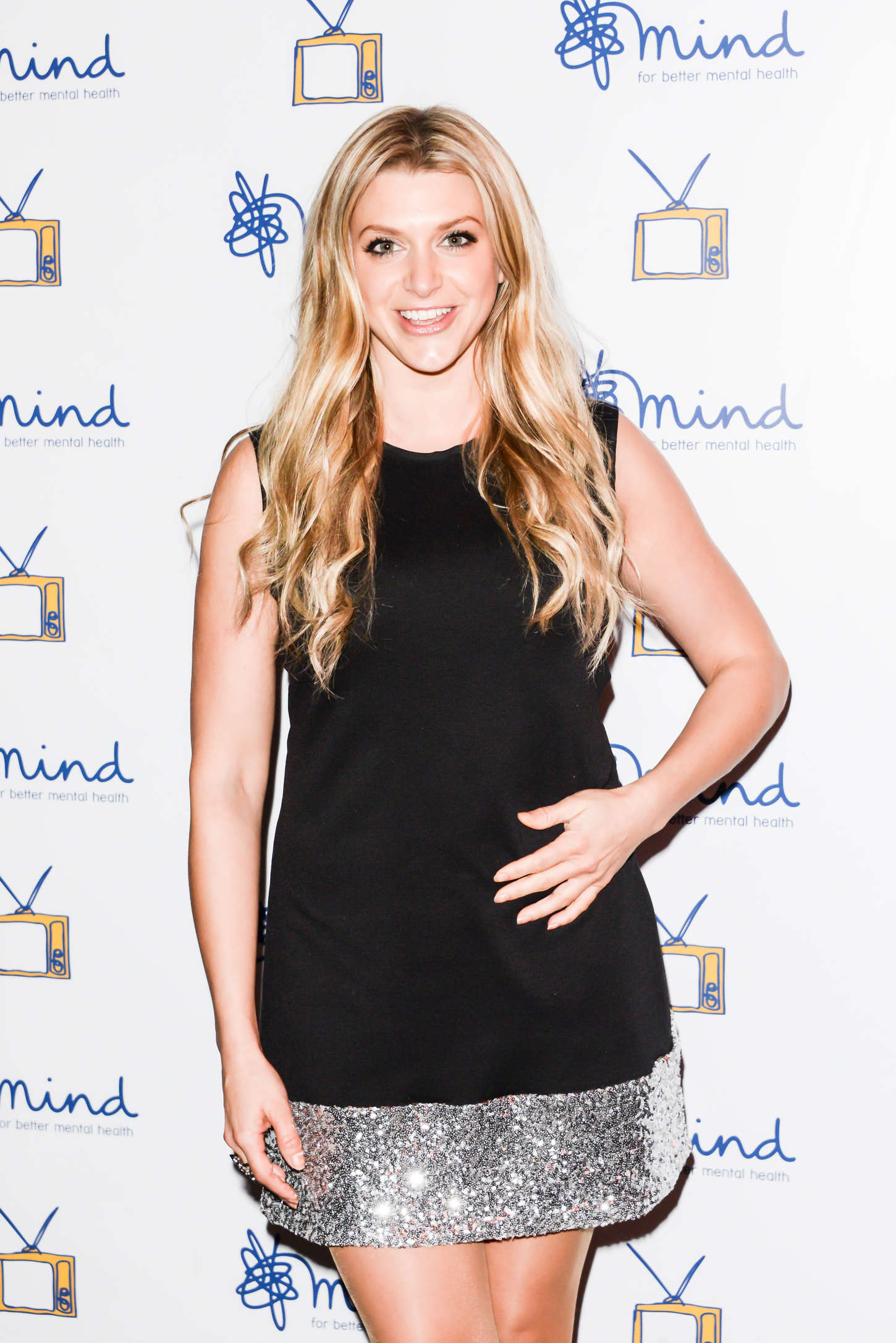 Anna Williamson Mind Media Awards in London