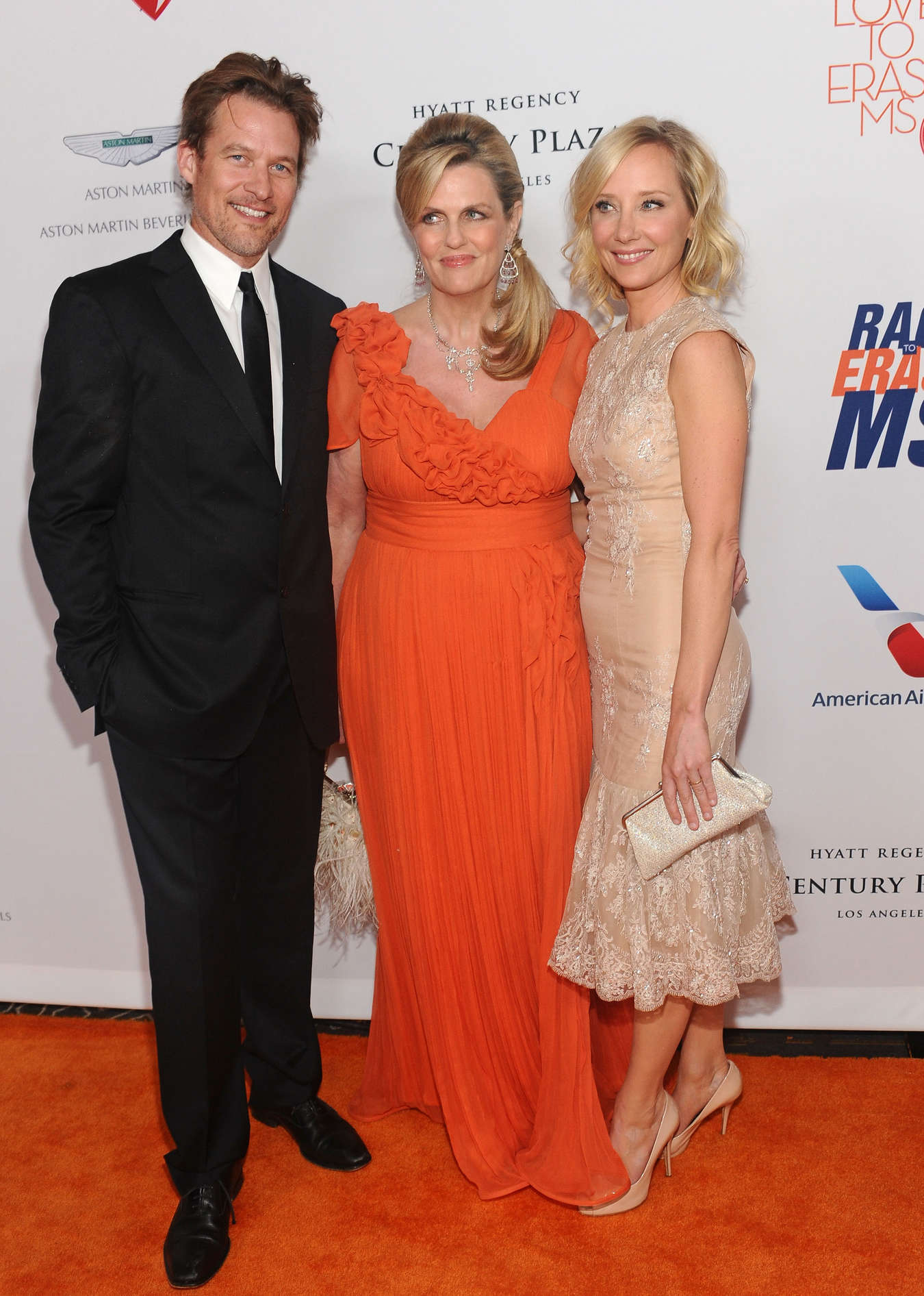 Anne Heche at the Annual Race to Erase MS Gala in Los Angeles