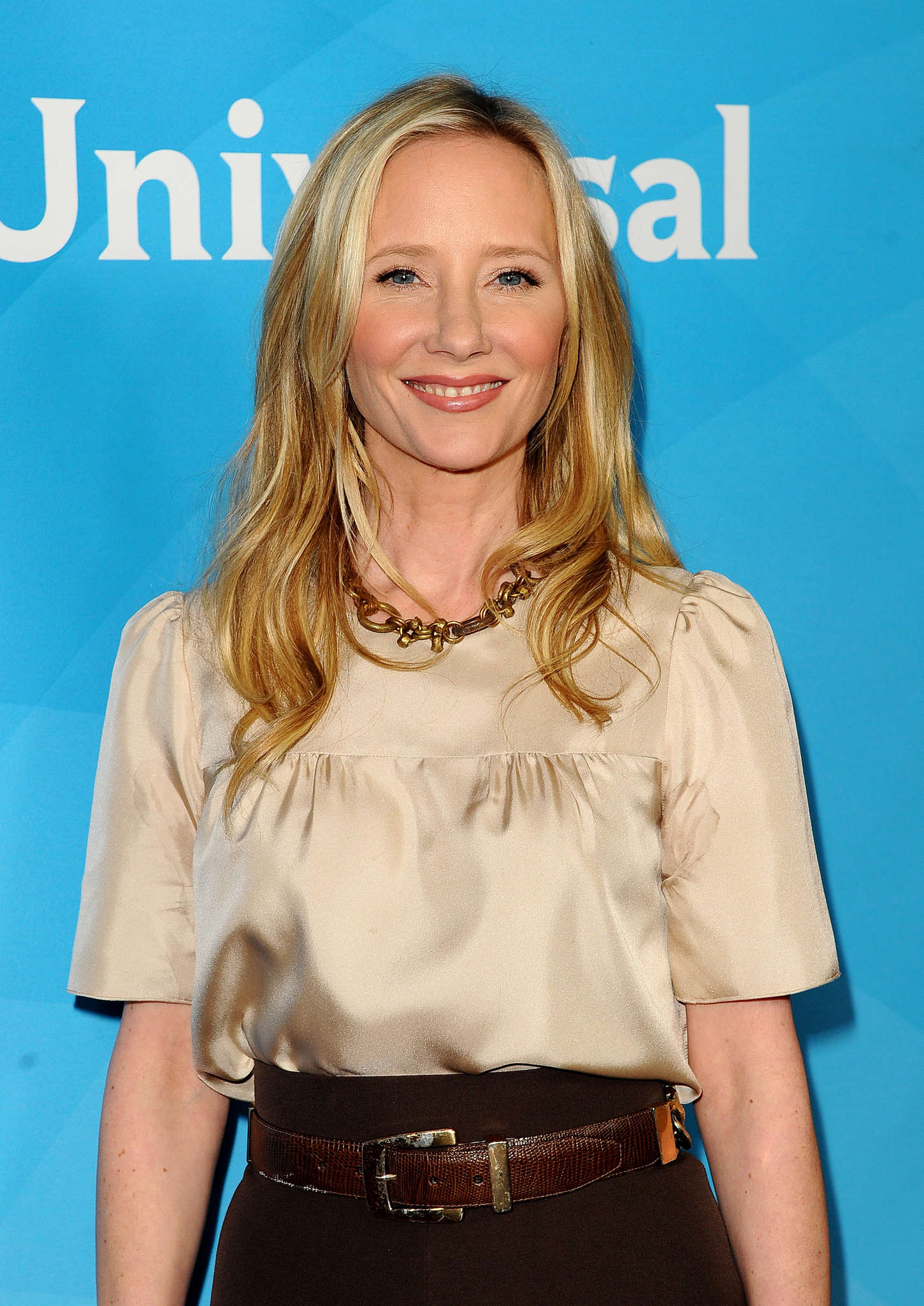 Anne Heche NBCUniversal Press Tour Day in Pasadena